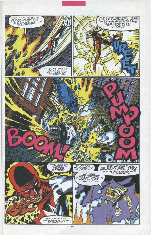 Read online Alpha Flight (1983) comic -  Issue #97 - 21