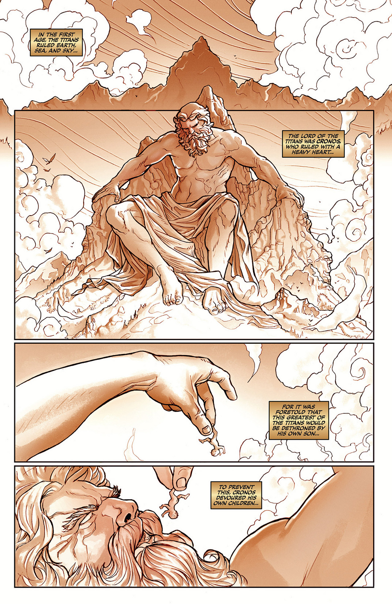 Read online Athena comic -  Issue #1 - 11