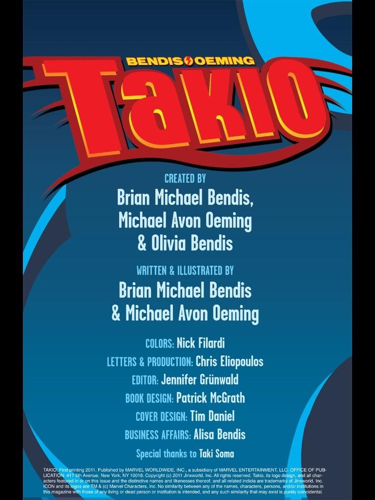 Read online Takio (2011) comic -  Issue # TPB - 2
