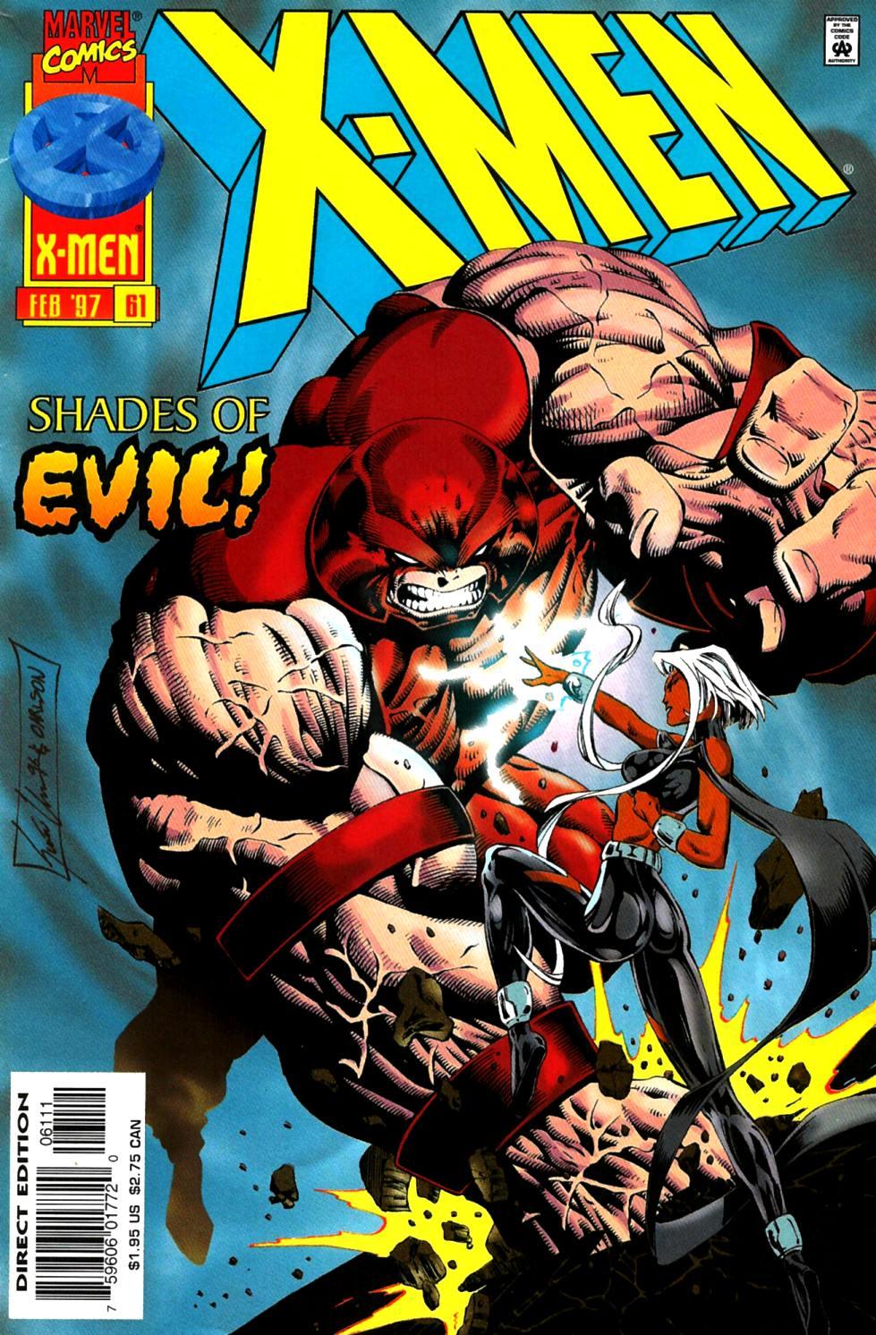 X-Men (1991) 61 Page 0