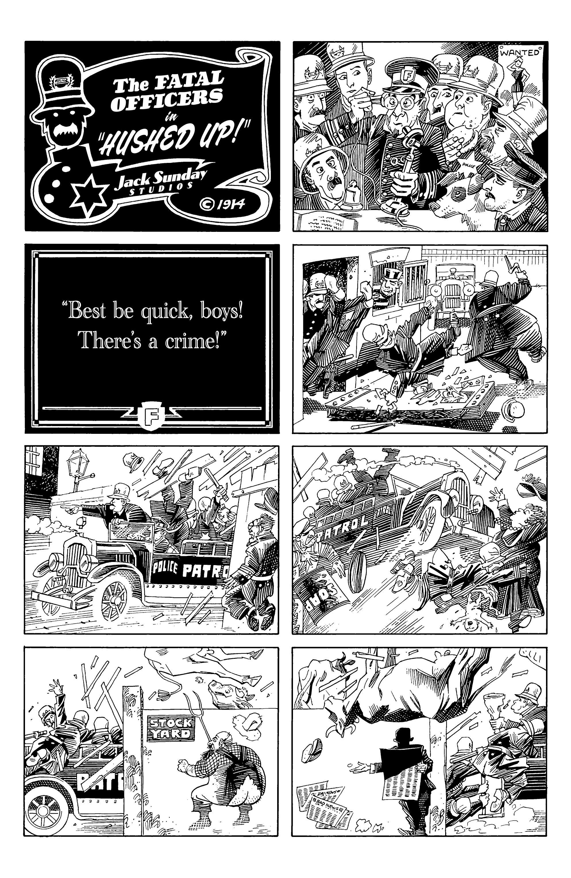 Read online Alan Moore's Cinema Purgatorio comic -  Issue #1 - 6