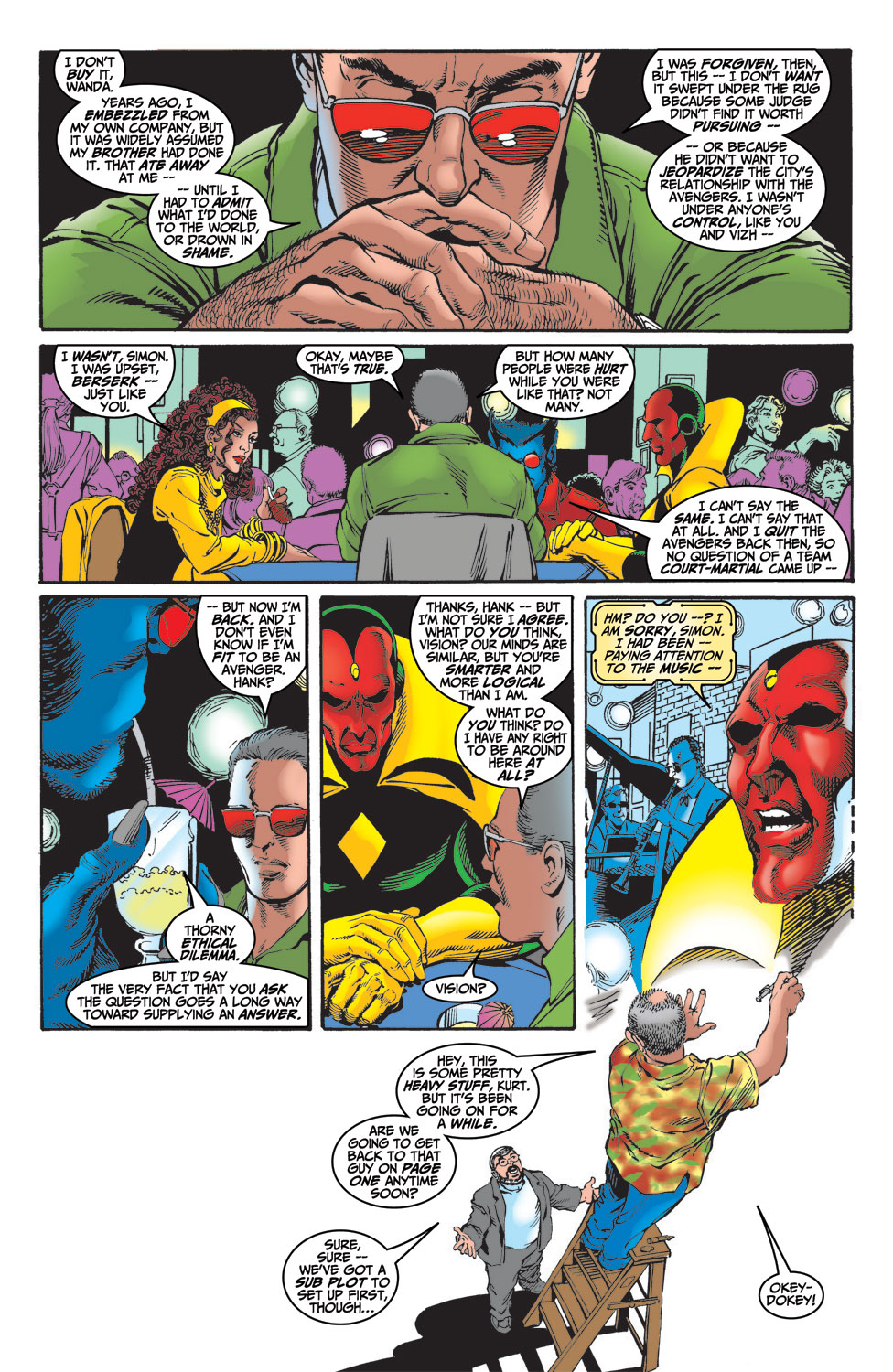 Read online Avengers (1998) comic -  Issue #14 - 11