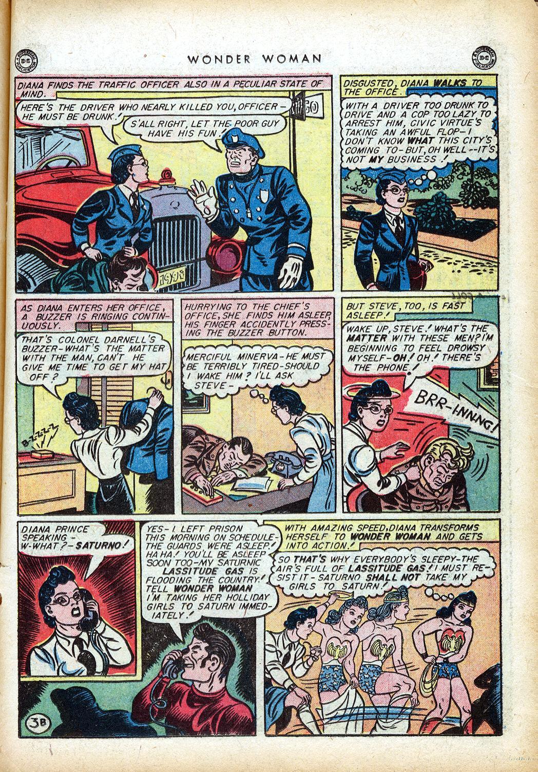 Read online Wonder Woman (1942) comic -  Issue #10 - 24