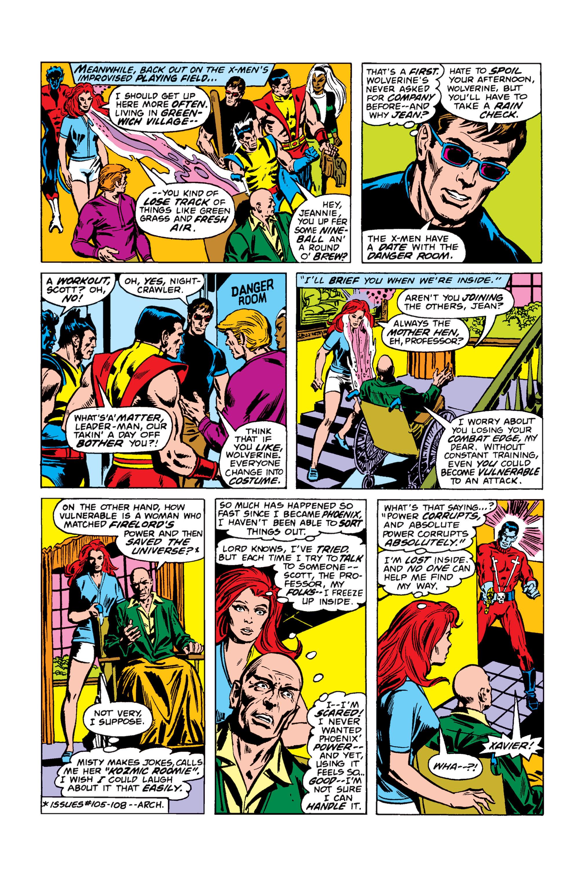 Read online Uncanny X-Men (1963) comic -  Issue #110 - 7