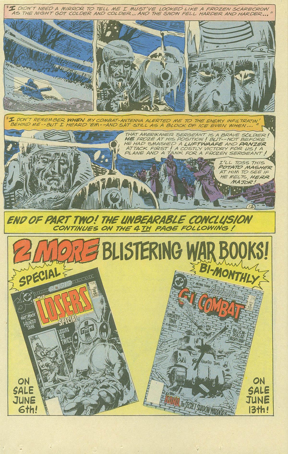 Read online Sgt. Rock comic -  Issue #404 - 16