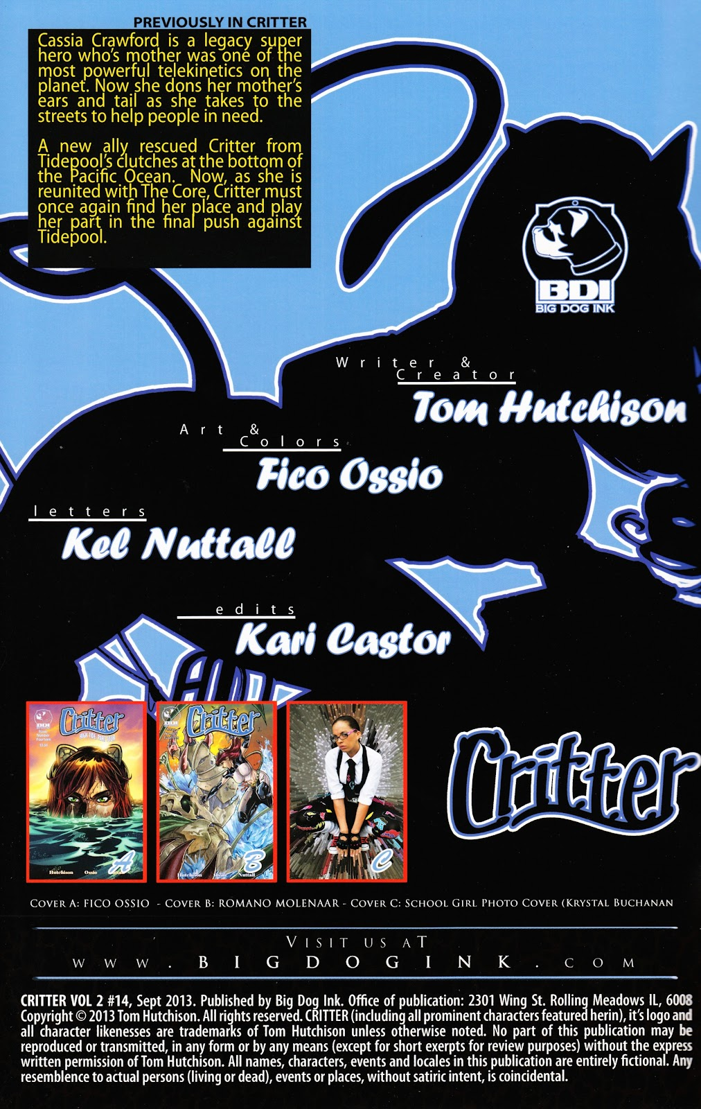 Read online Critter (2012) comic -  Issue #14 - 2