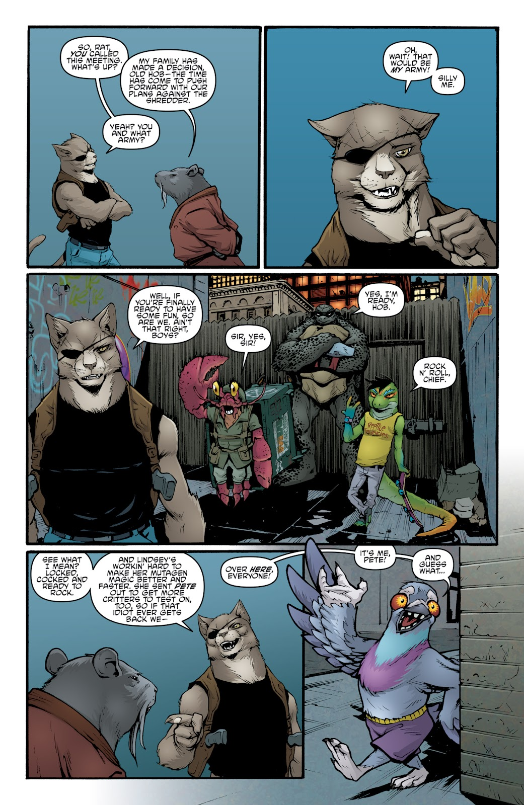 Read online Teenage Mutant Ninja Turtles: The IDW Collection comic -  Issue # TPB 5 (Part 2) - 40