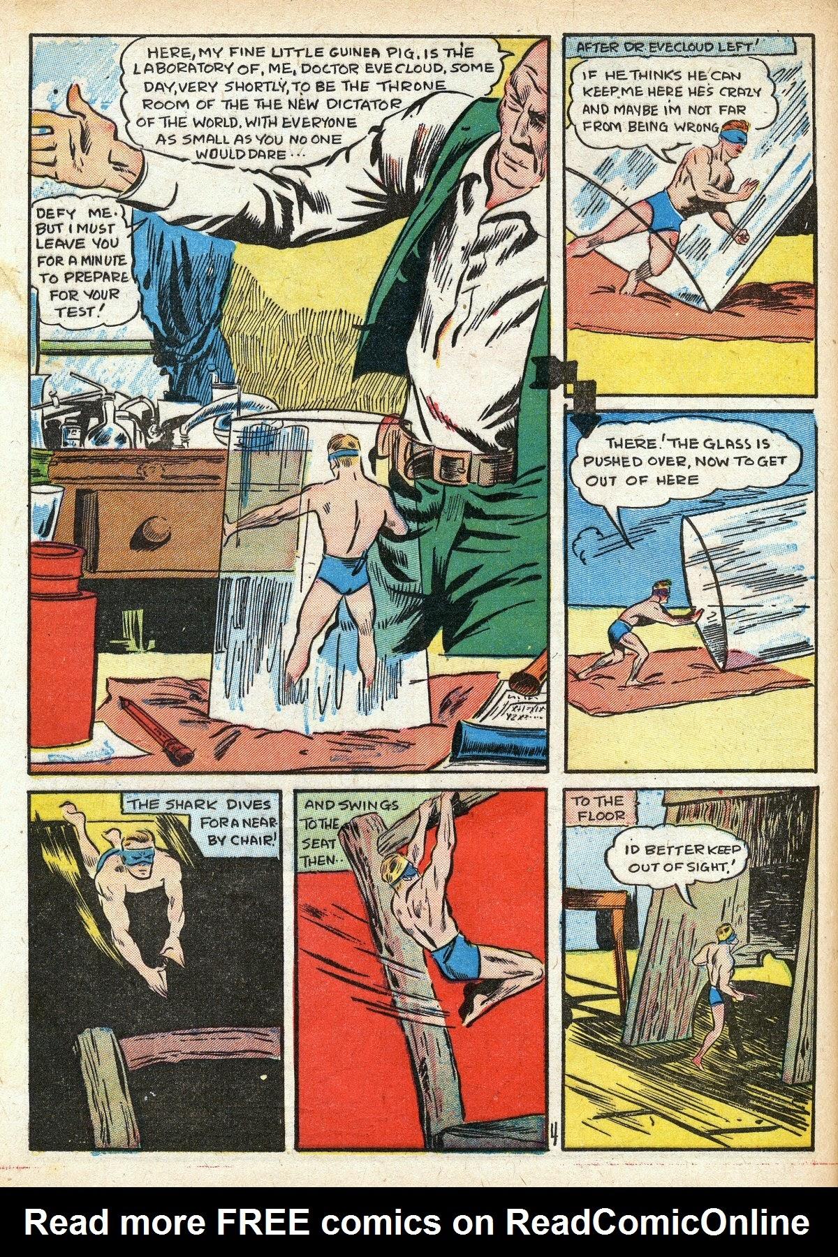 Read online Amazing Man Comics comic -  Issue #16 - 46