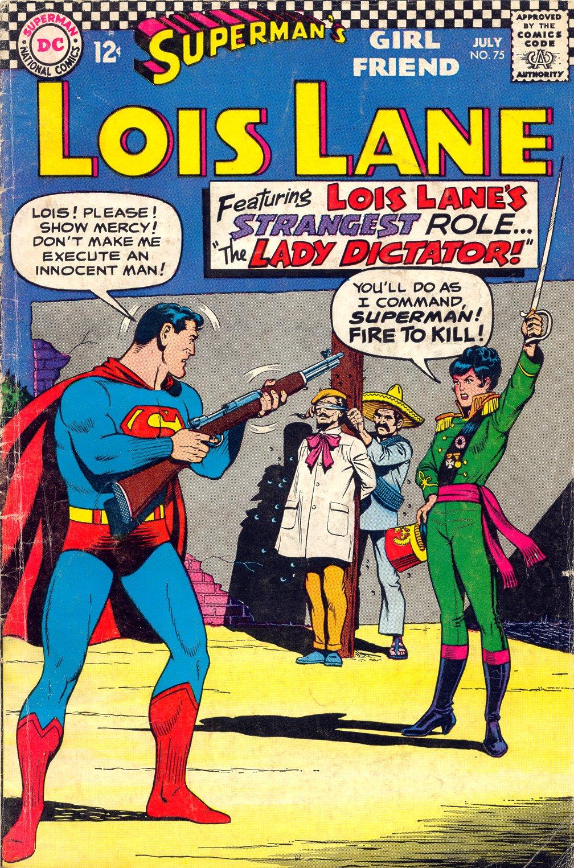 Supermans Girl Friend, Lois Lane 75 Page 1