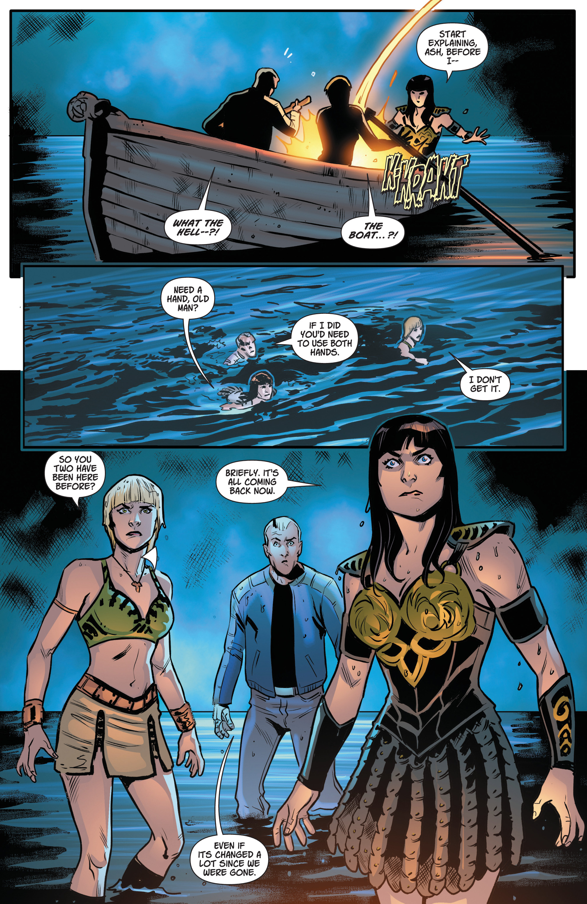 Read online Army Of Darkness/Xena: Forever…And A Day comic -  Issue #5 - 19