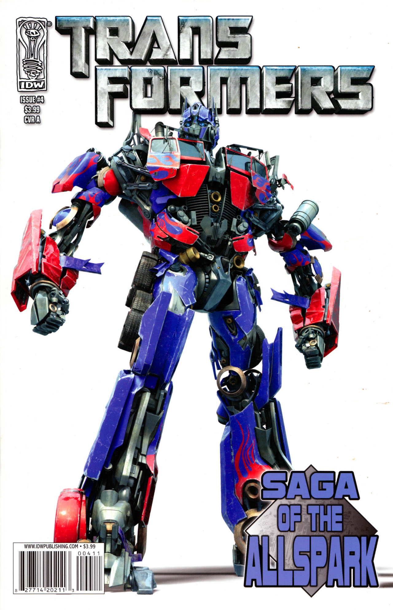 Read online Transformers: Saga of the Allspark comic -  Issue #4 - 1