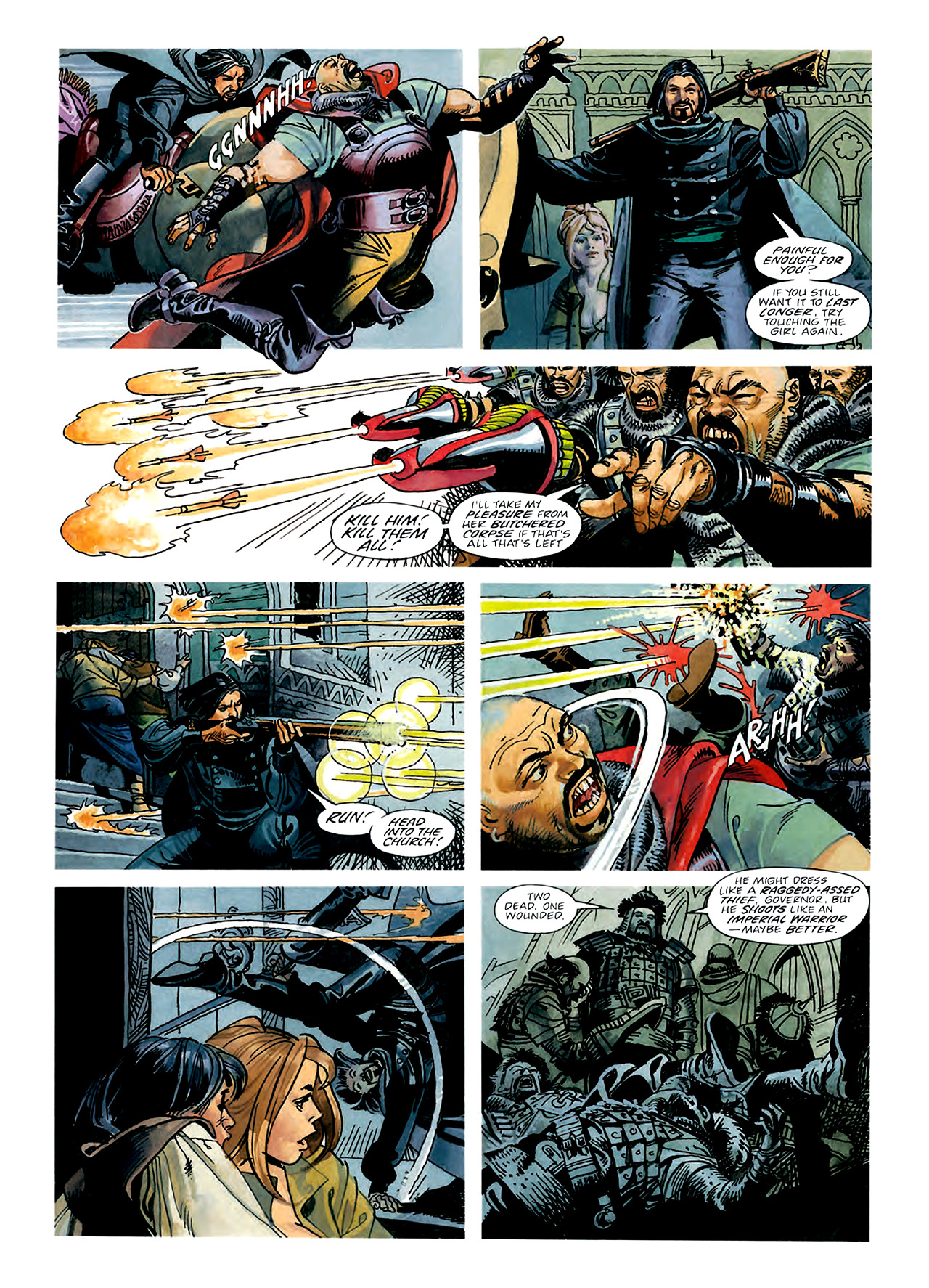 Read online Nikolai Dante comic -  Issue # TPB 3 - 51