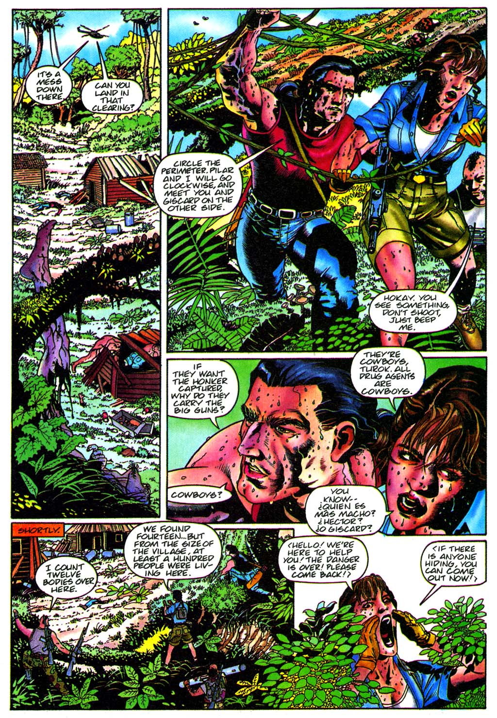 Read online Turok, Dinosaur Hunter (1993) comic -  Issue #28 - 7