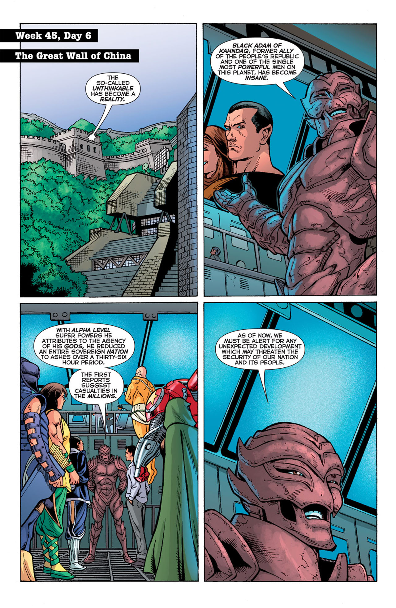 Read online 52 comic -  Issue #45 - 15