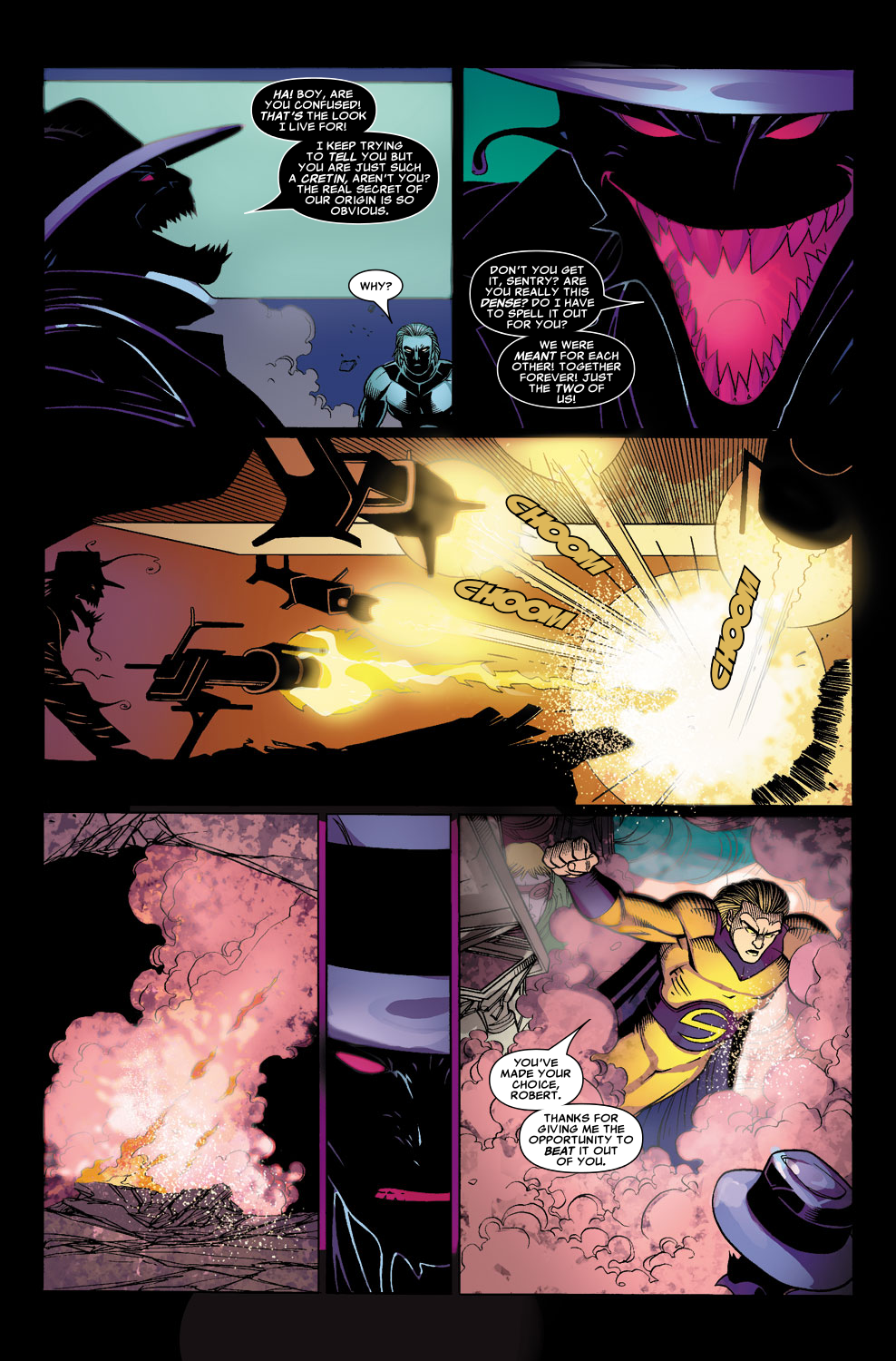 Read online Sentry (2006) comic -  Issue #8 - 12