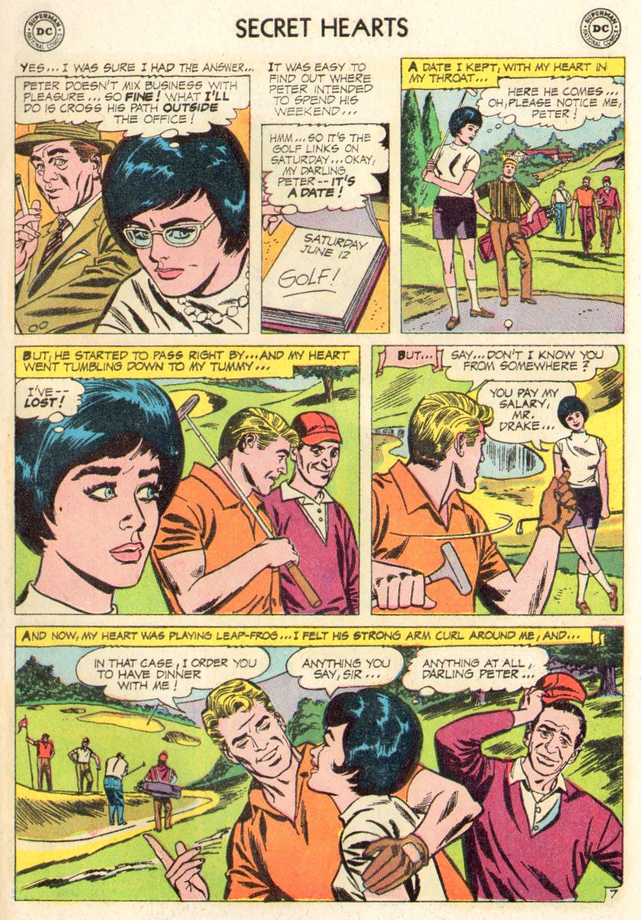 Read online Secret Hearts comic -  Issue #104 - 9