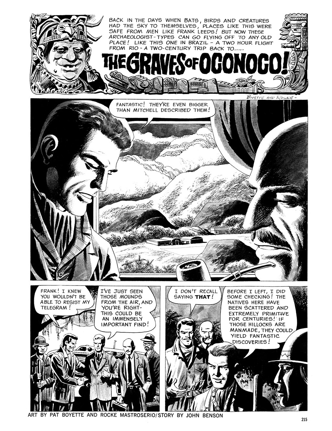 Read online Eerie Archives comic -  Issue # TPB 3 - 216