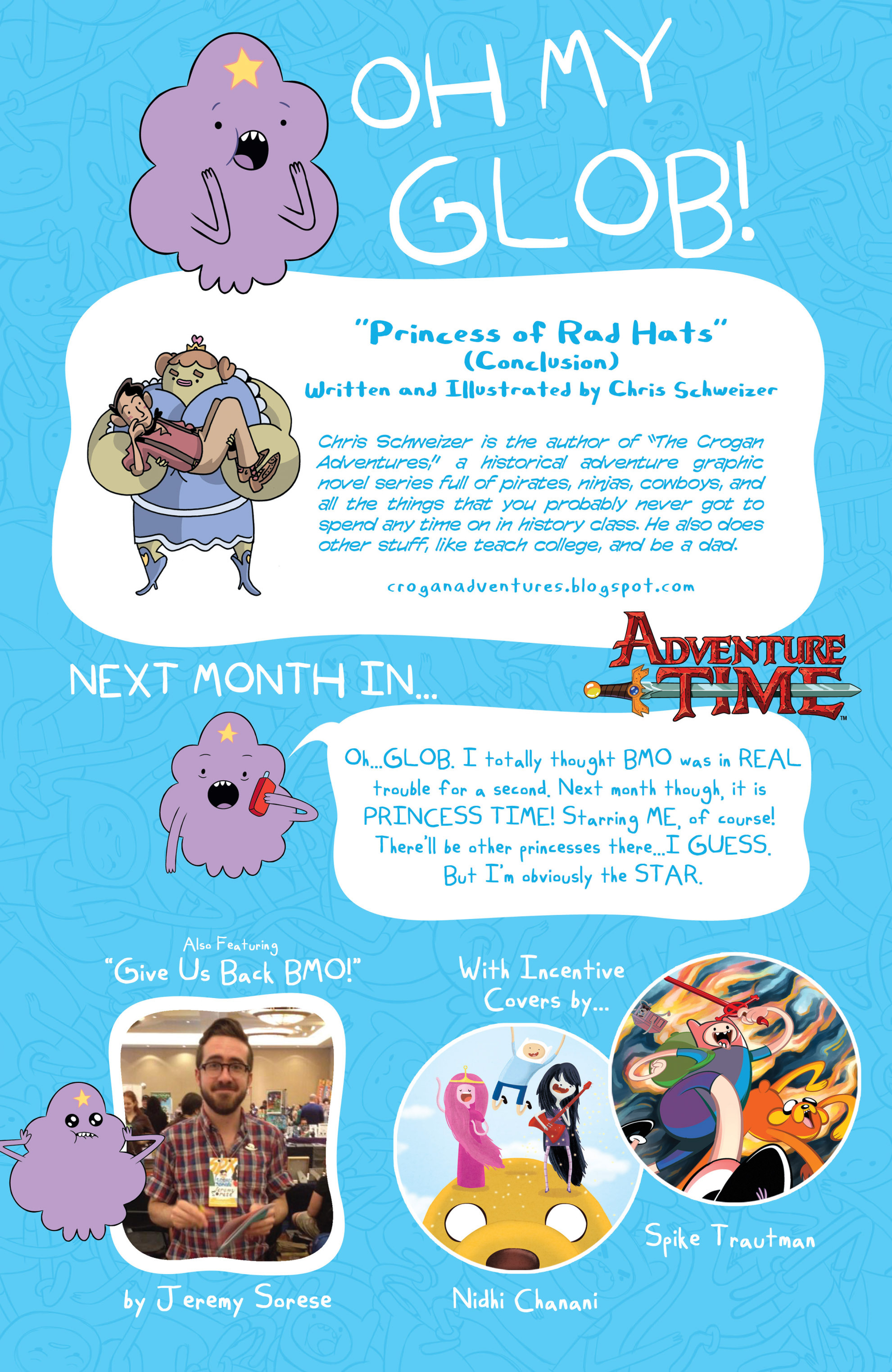 Read online Adventure Time comic -  Issue #14 - 25