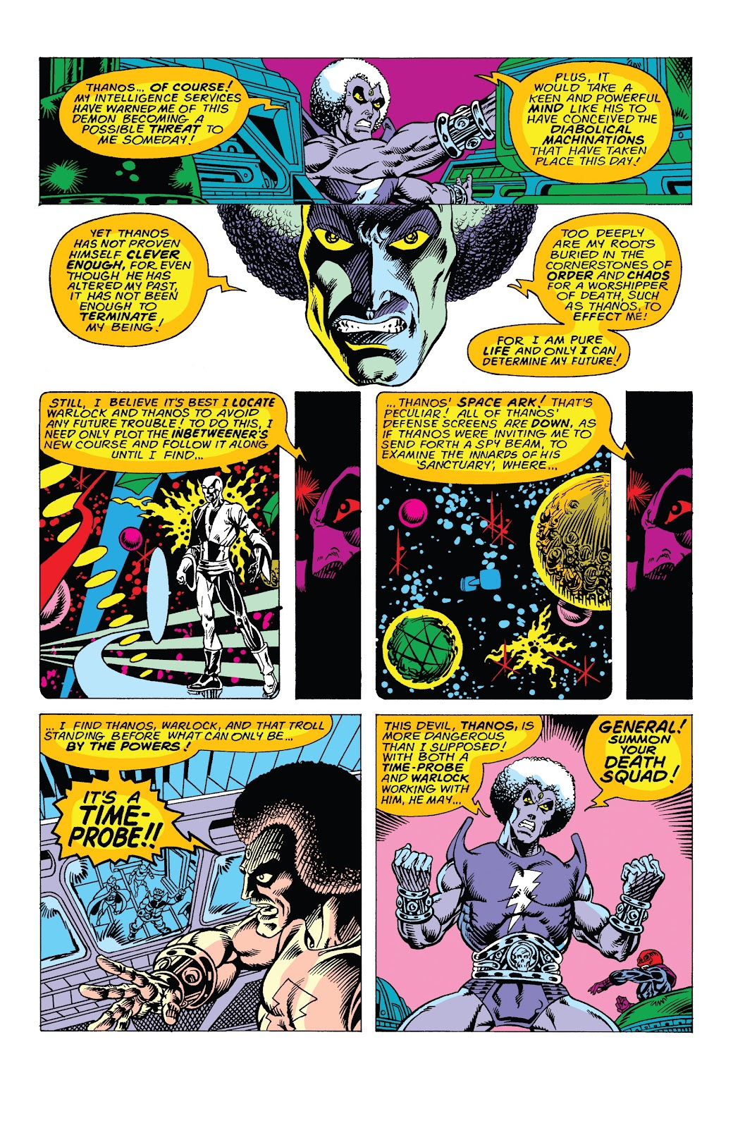 Read online Marvel Tales: Thanos comic -  Issue # Full - 23