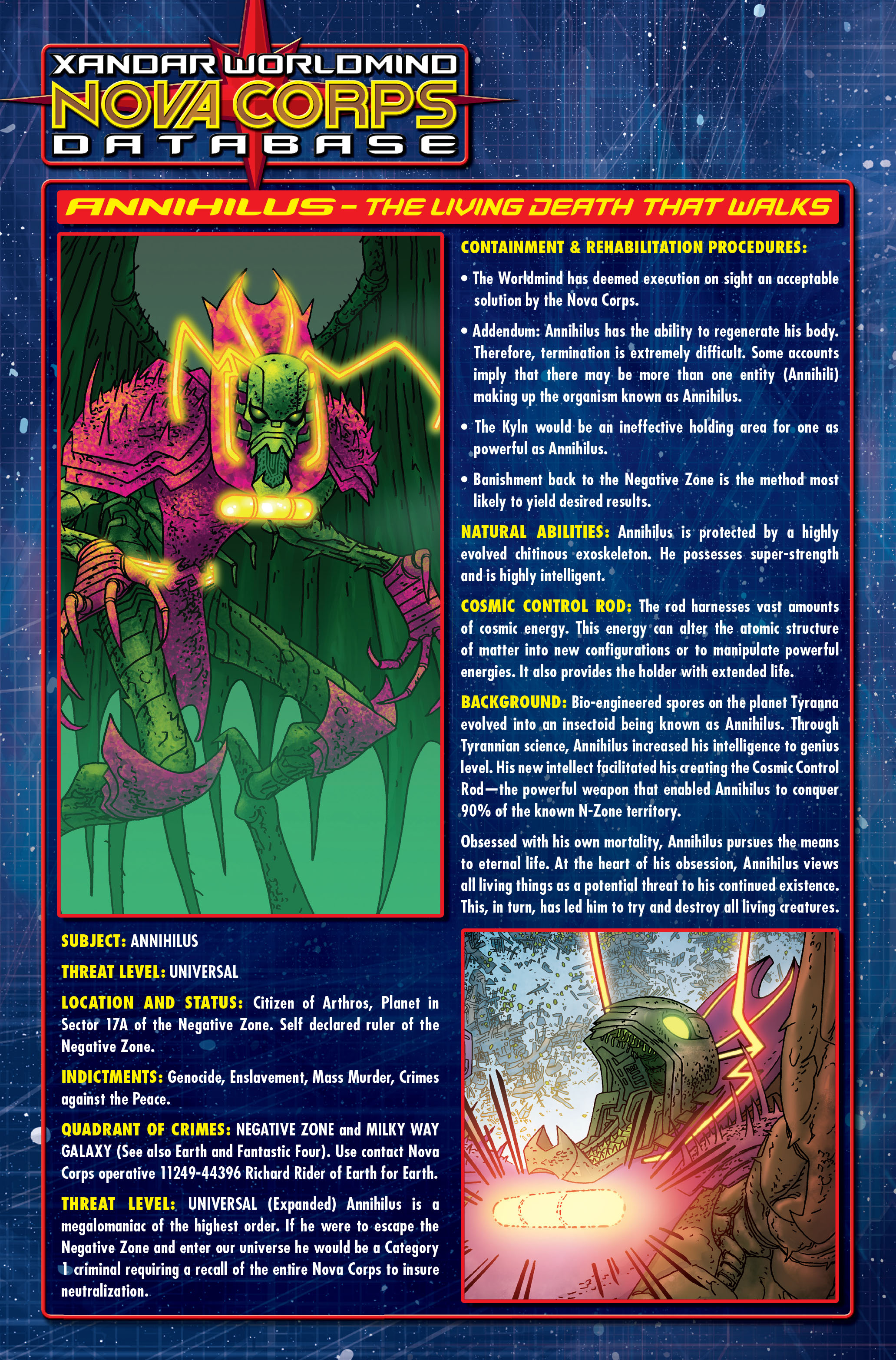 Read online Annihilation: Prologue comic -  Issue #Annihilation: Prologue Full - 43