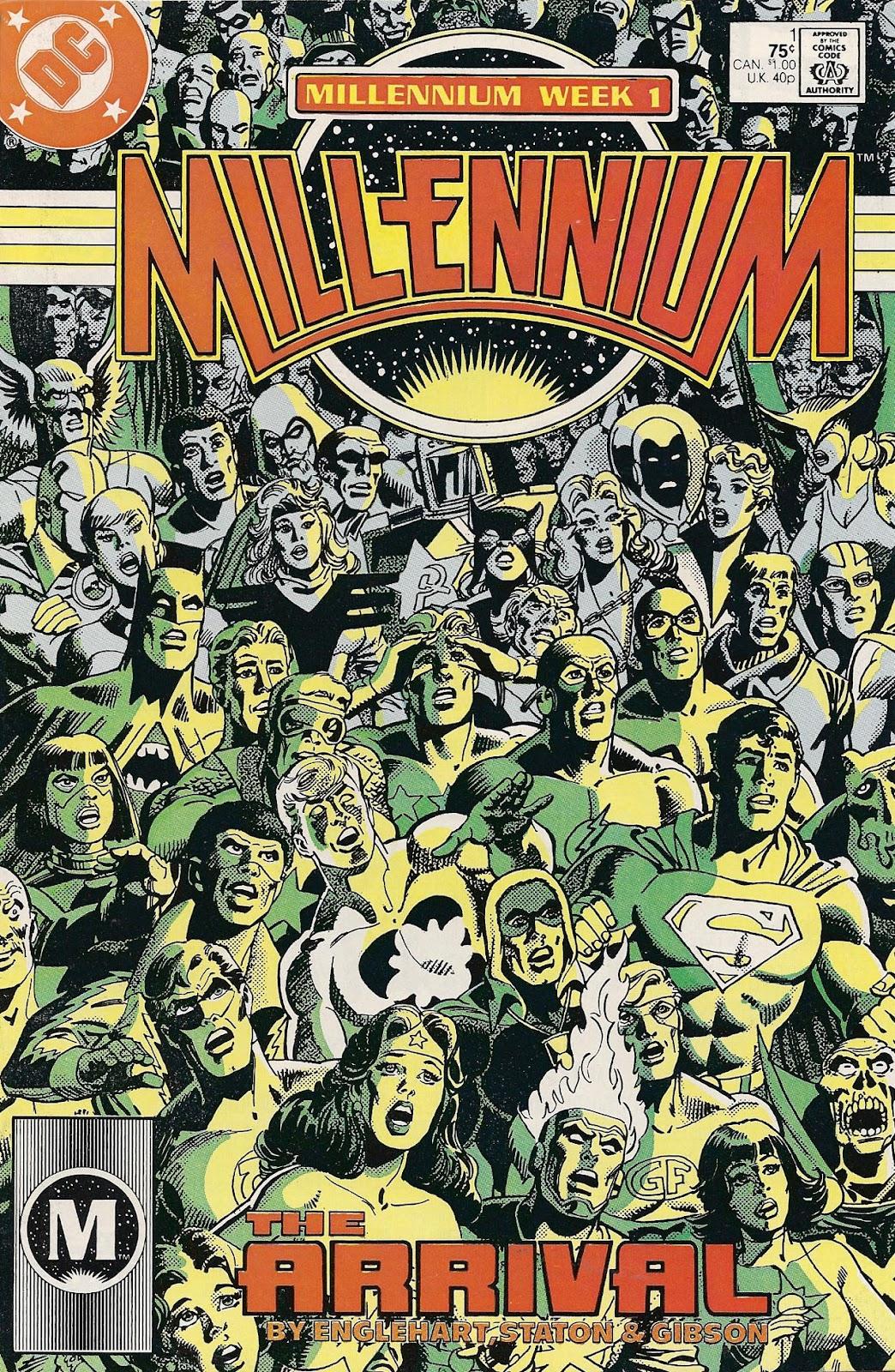 Millennium (1988) issue 1 - Page 1