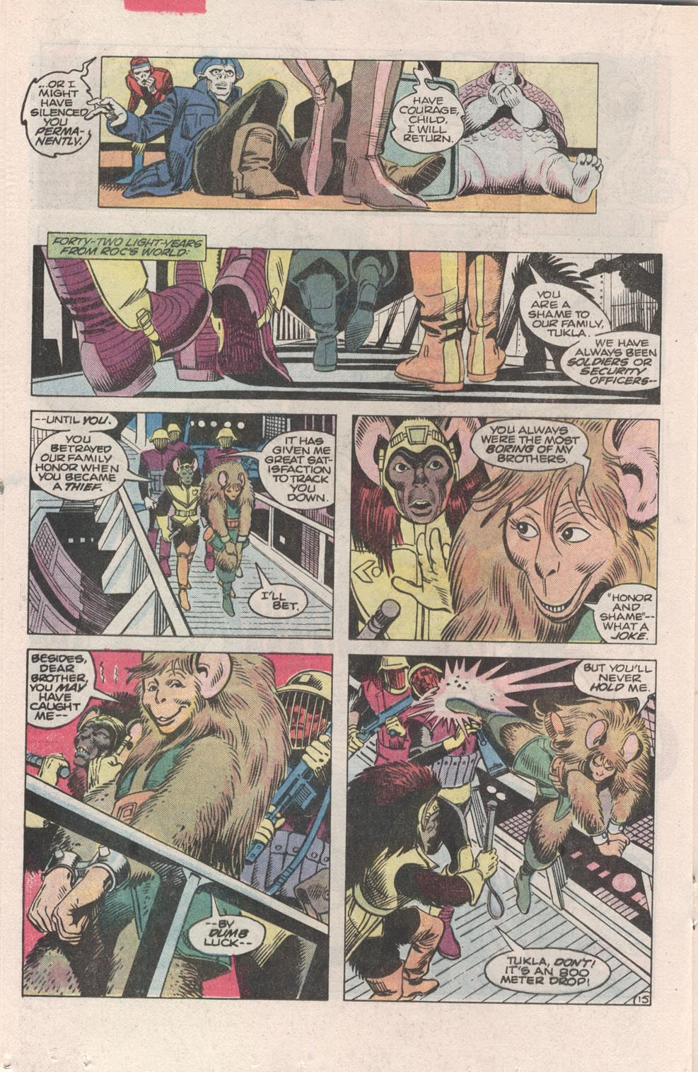 Read online Atari Force (1984) comic -  Issue #3 - 16