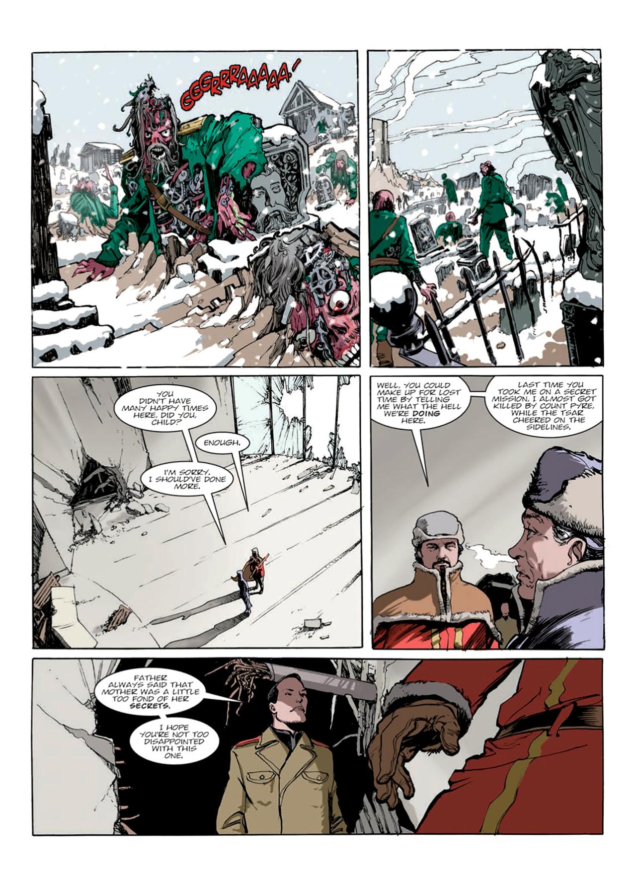 Read online Nikolai Dante comic -  Issue # TPB 9 - 149