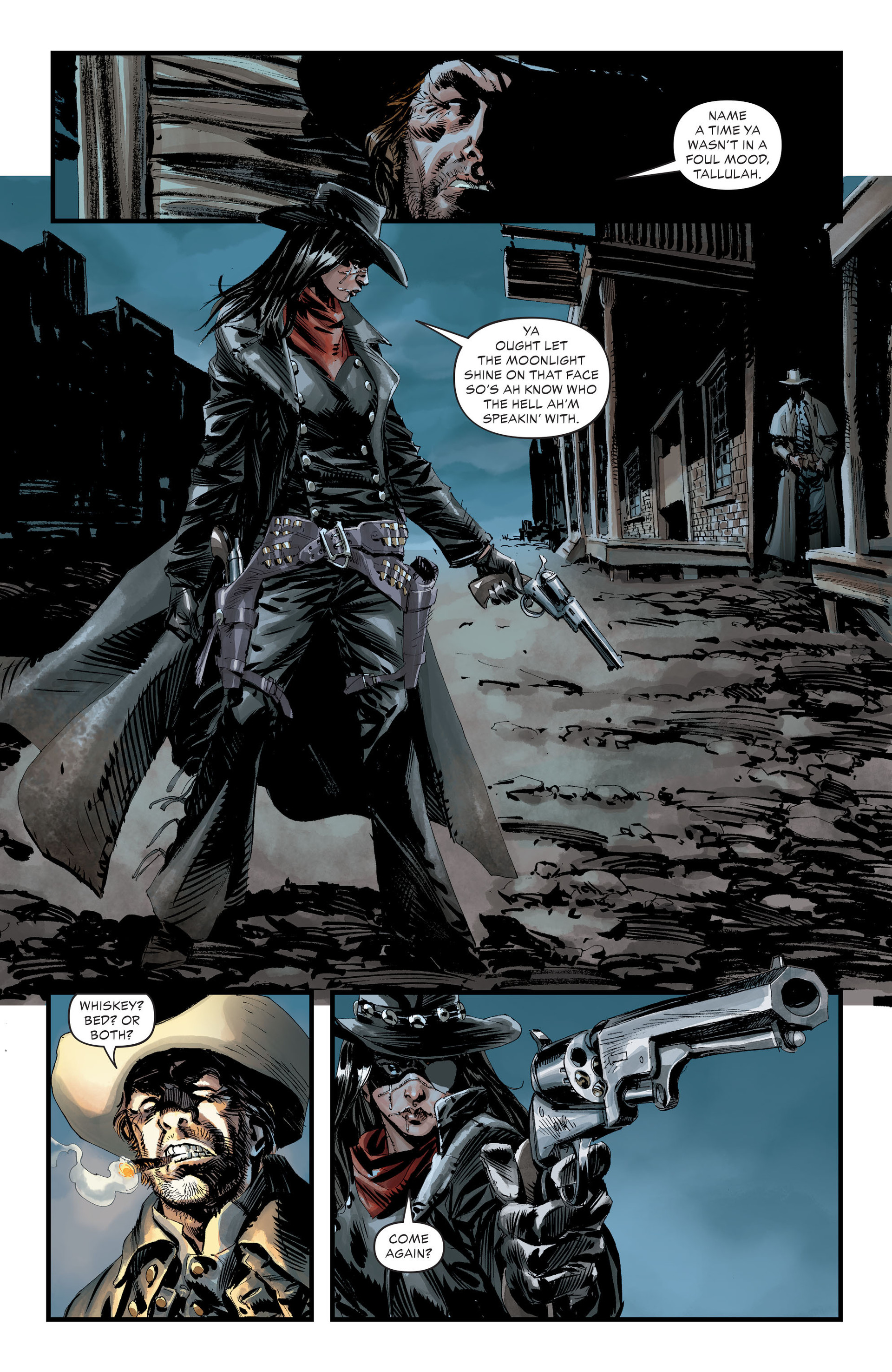 Read online All-Star Western (2011) comic -  Issue #30 - 8