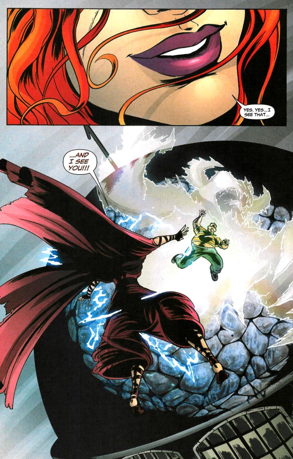 Read online Fallen Angel (2003) comic -  Issue #6 - 17
