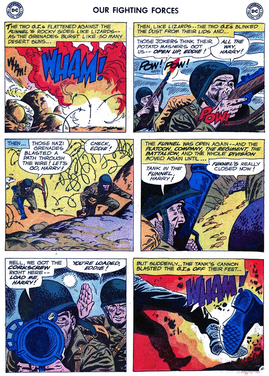Our Fighting Forces (1954) issue 46 - Page 30