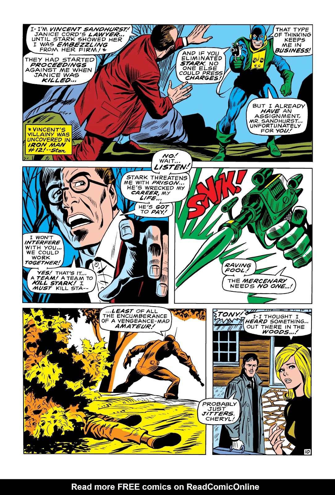 Read online Marvel Masterworks: The Invincible Iron Man comic -  Issue # TPB 6 (Part 3) - 5