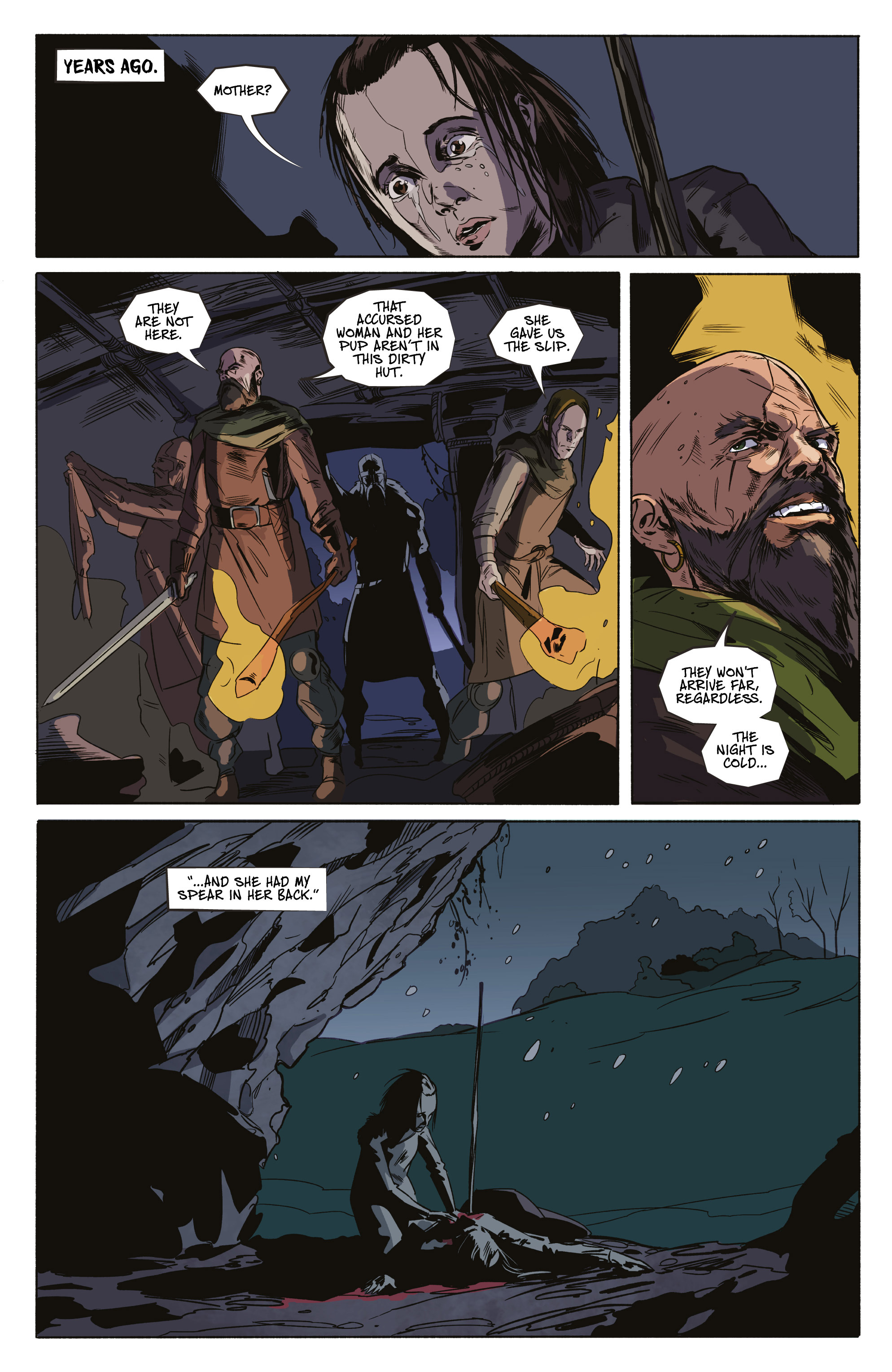 Read online Ghost Wolf comic -  Issue #4 - 3