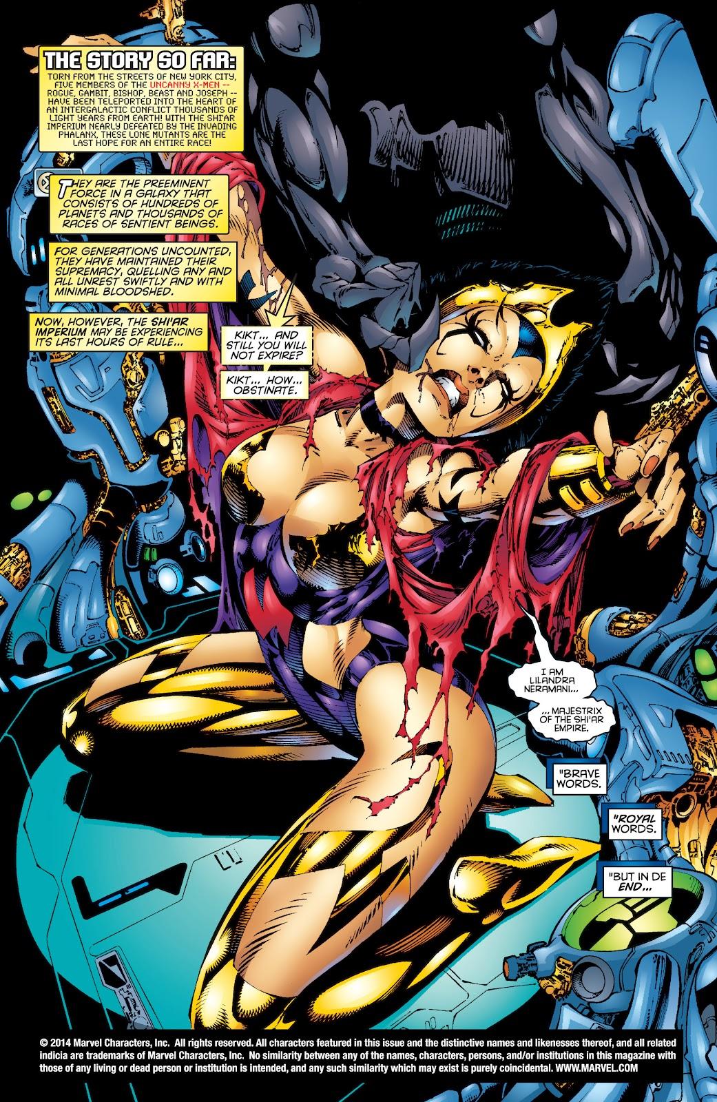 Uncanny X-Men (1963) issue 344 - Page 2