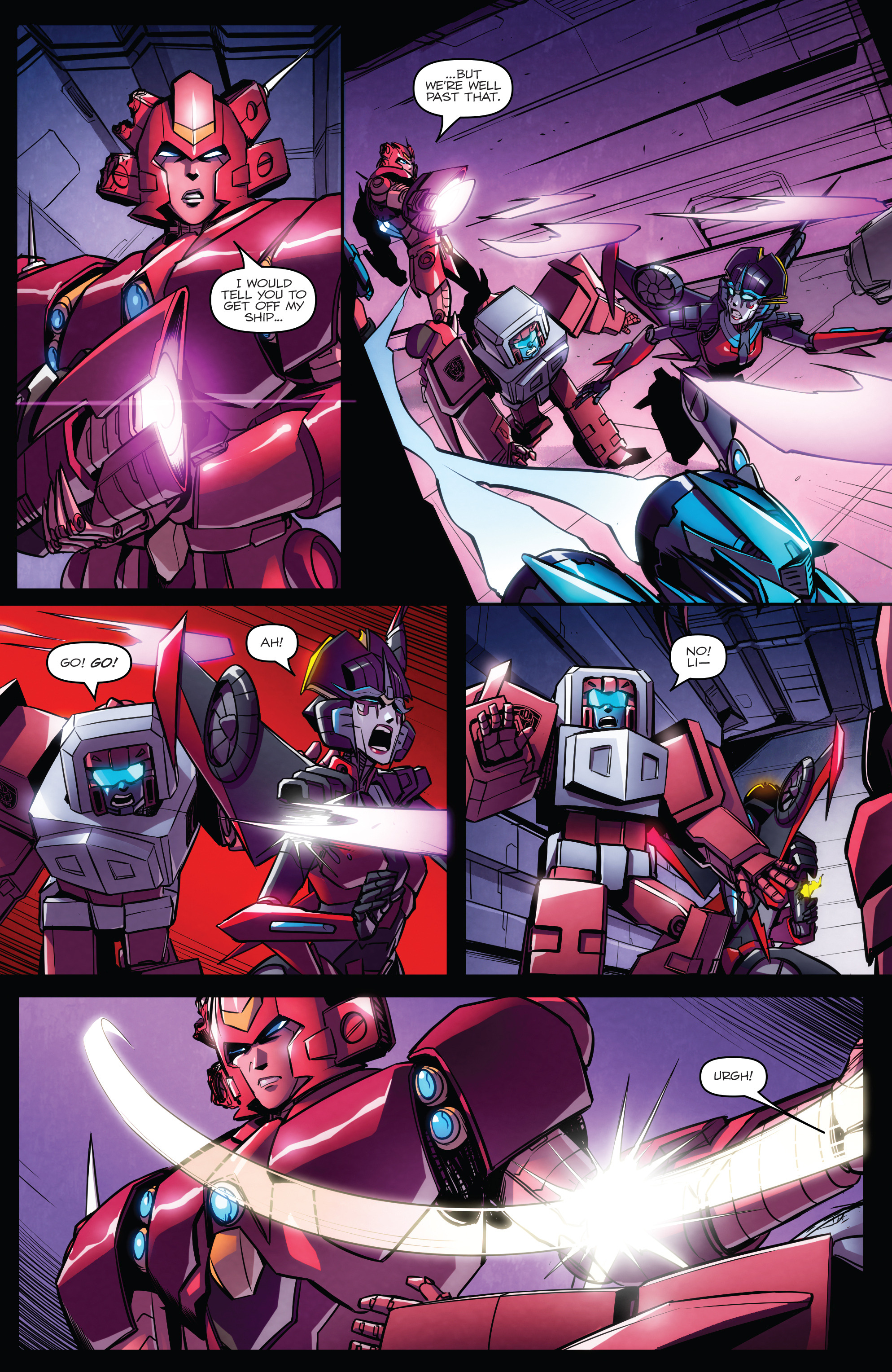 Read online Transformers: Till All Are One comic -  Issue #7 - 18