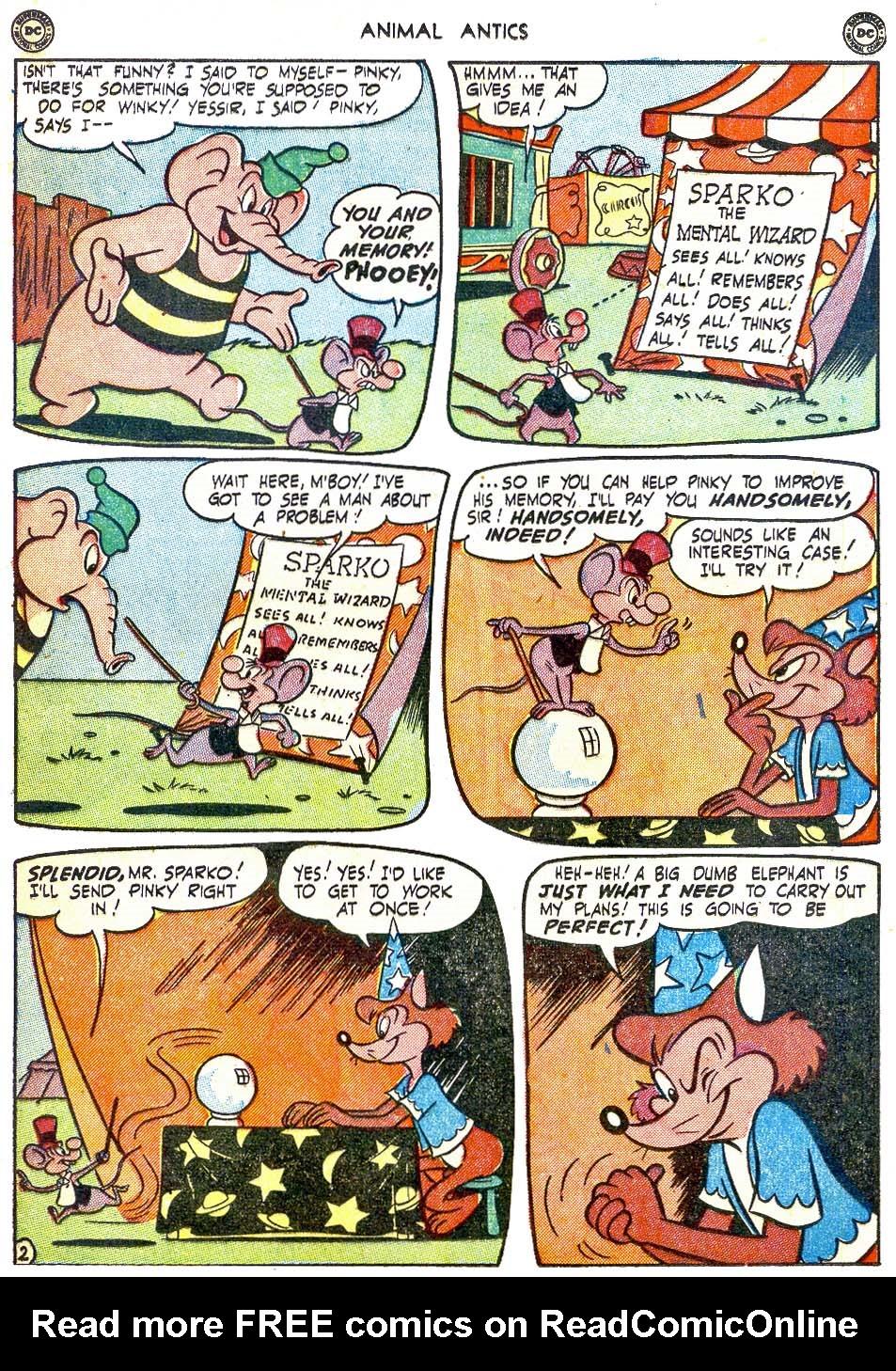 Read online Animal Antics comic -  Issue #28 - 19