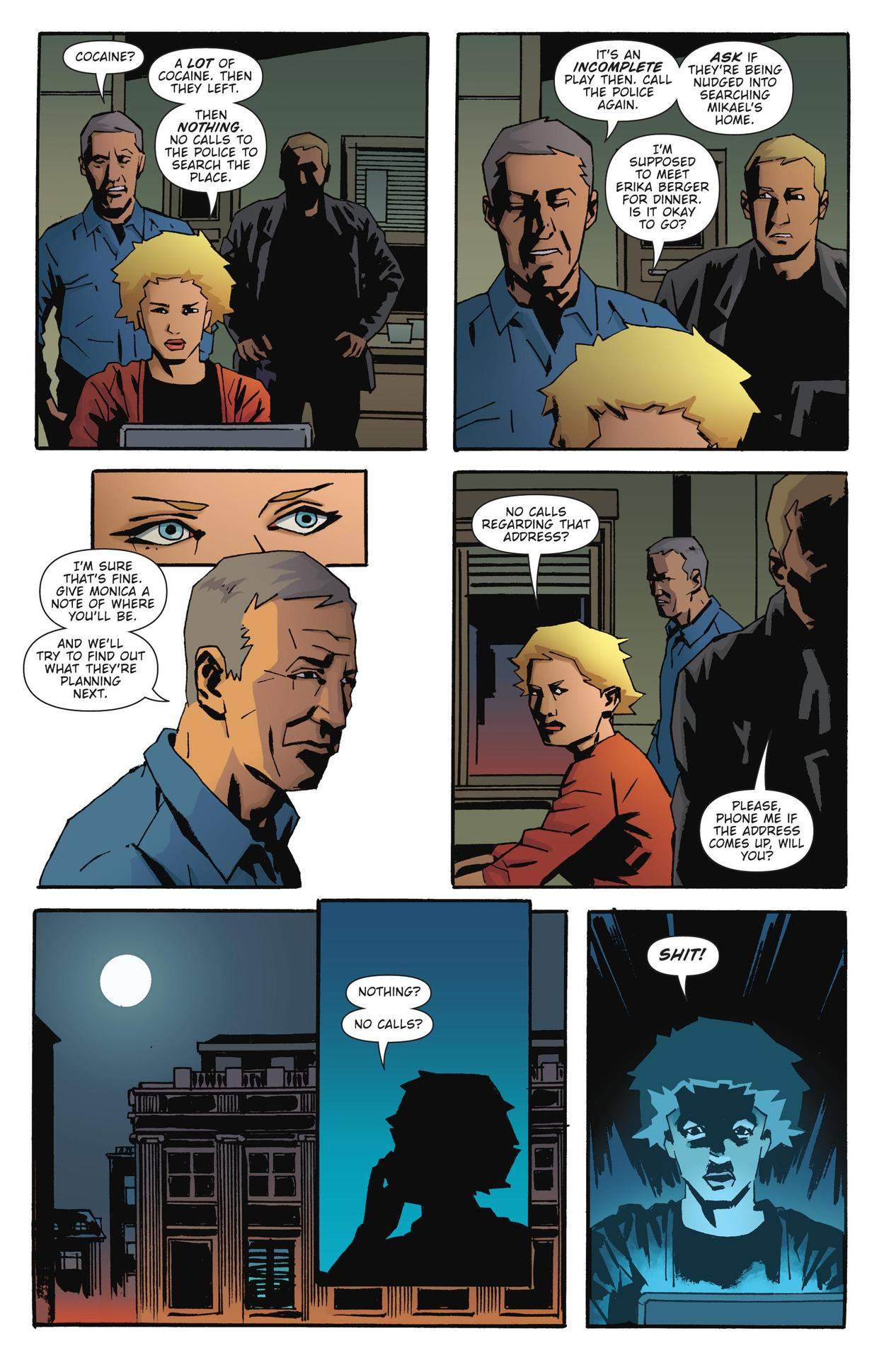 Read online The Girl Who Kicked The Hornet's Nest comic -  Issue # TPB - 204