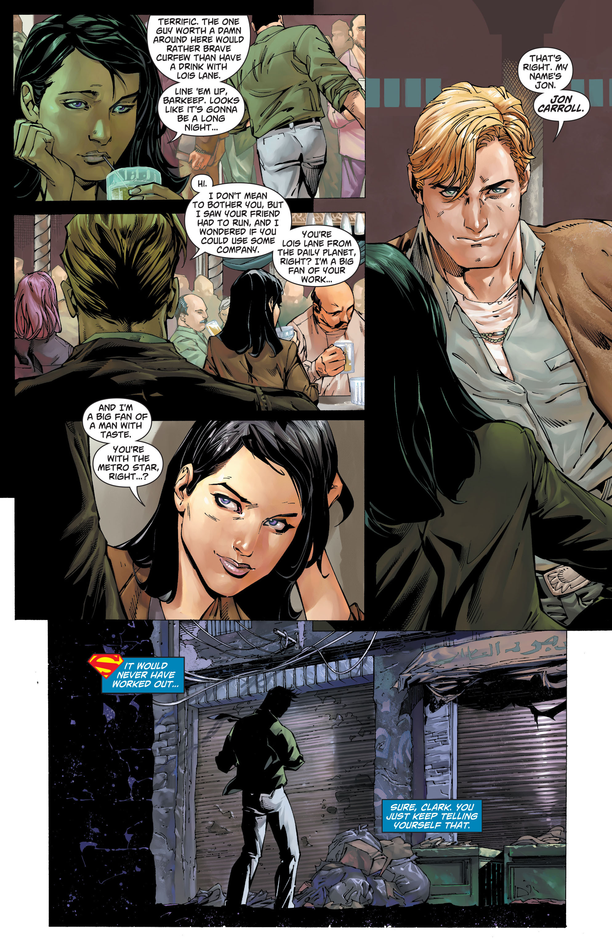 Read online Action Comics (2011) comic -  Issue #19 - 6