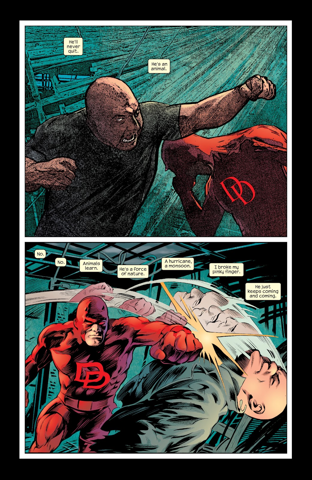 Read online Daredevil (1998) comic -  Issue # _Ultimate_Collection TPB 2 (Part 3) - 19