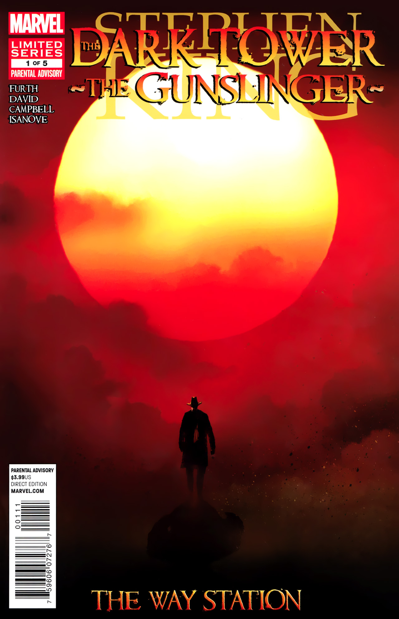 Read online Dark Tower: The Gunslinger - The Way Station comic -  Issue #1 - 1
