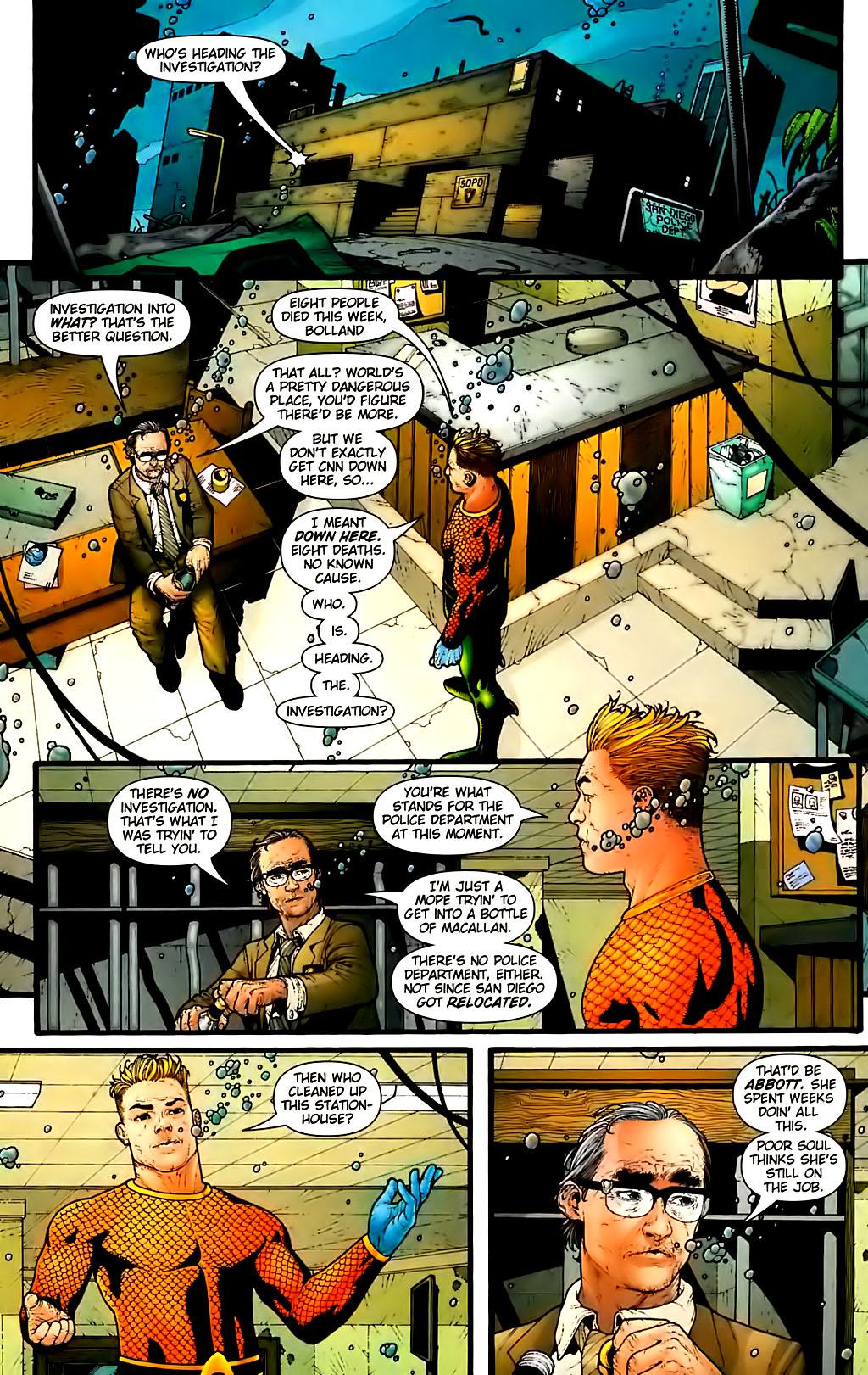 Read online Aquaman (2003) comic -  Issue #30 - 6