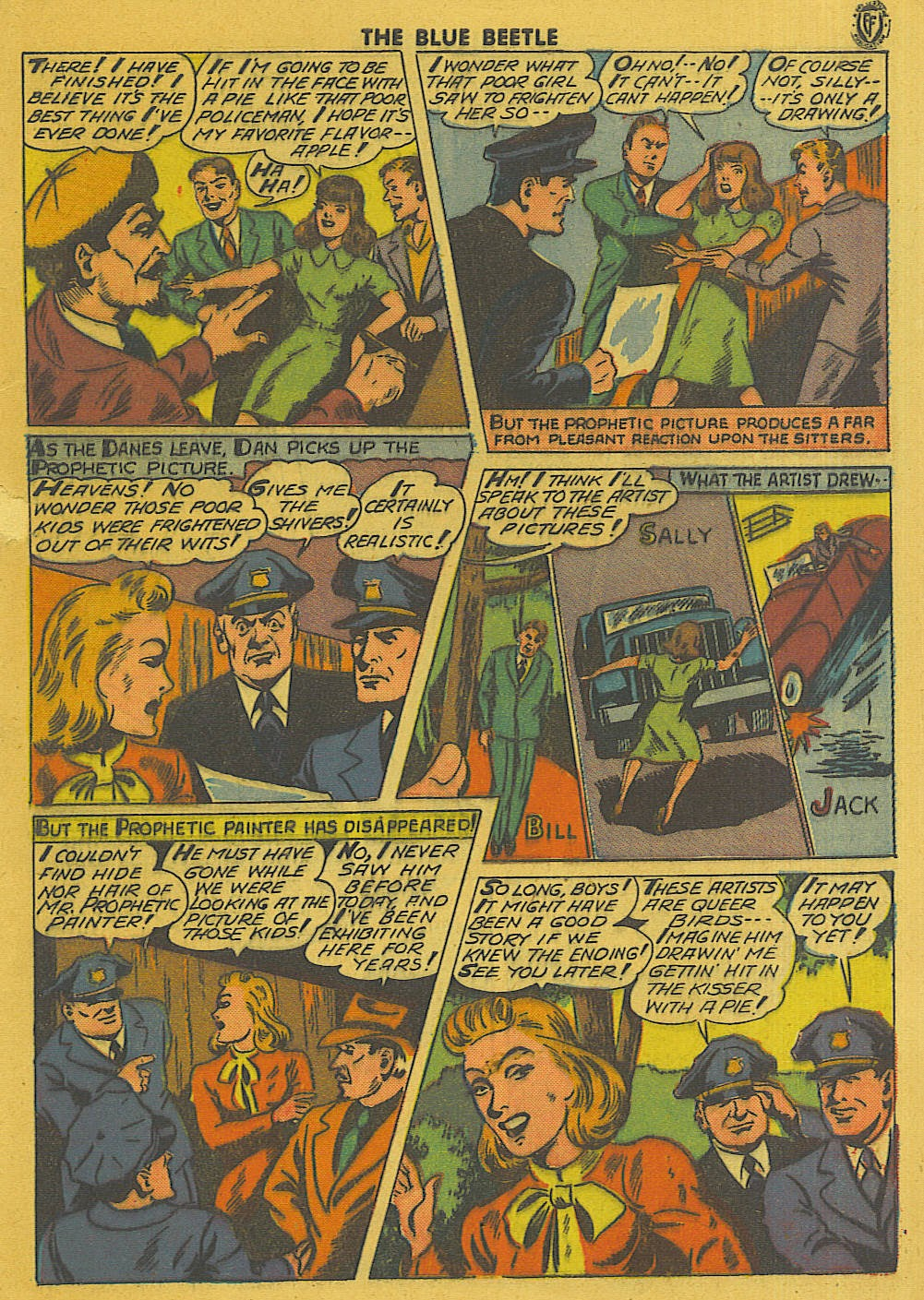 The Blue Beetle issue 35 - Page 4