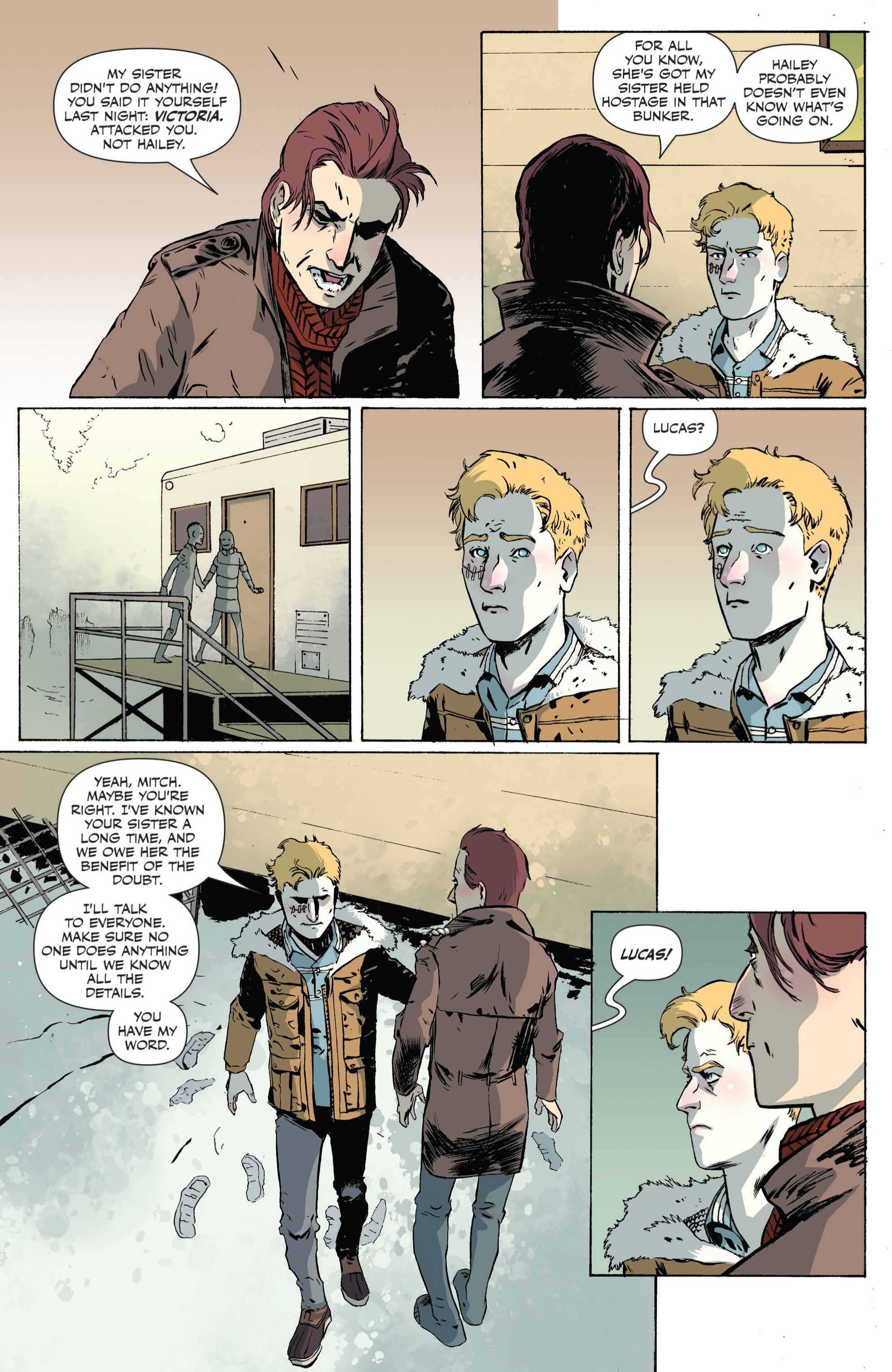 Read online Sheltered comic -  Issue #4 - 11