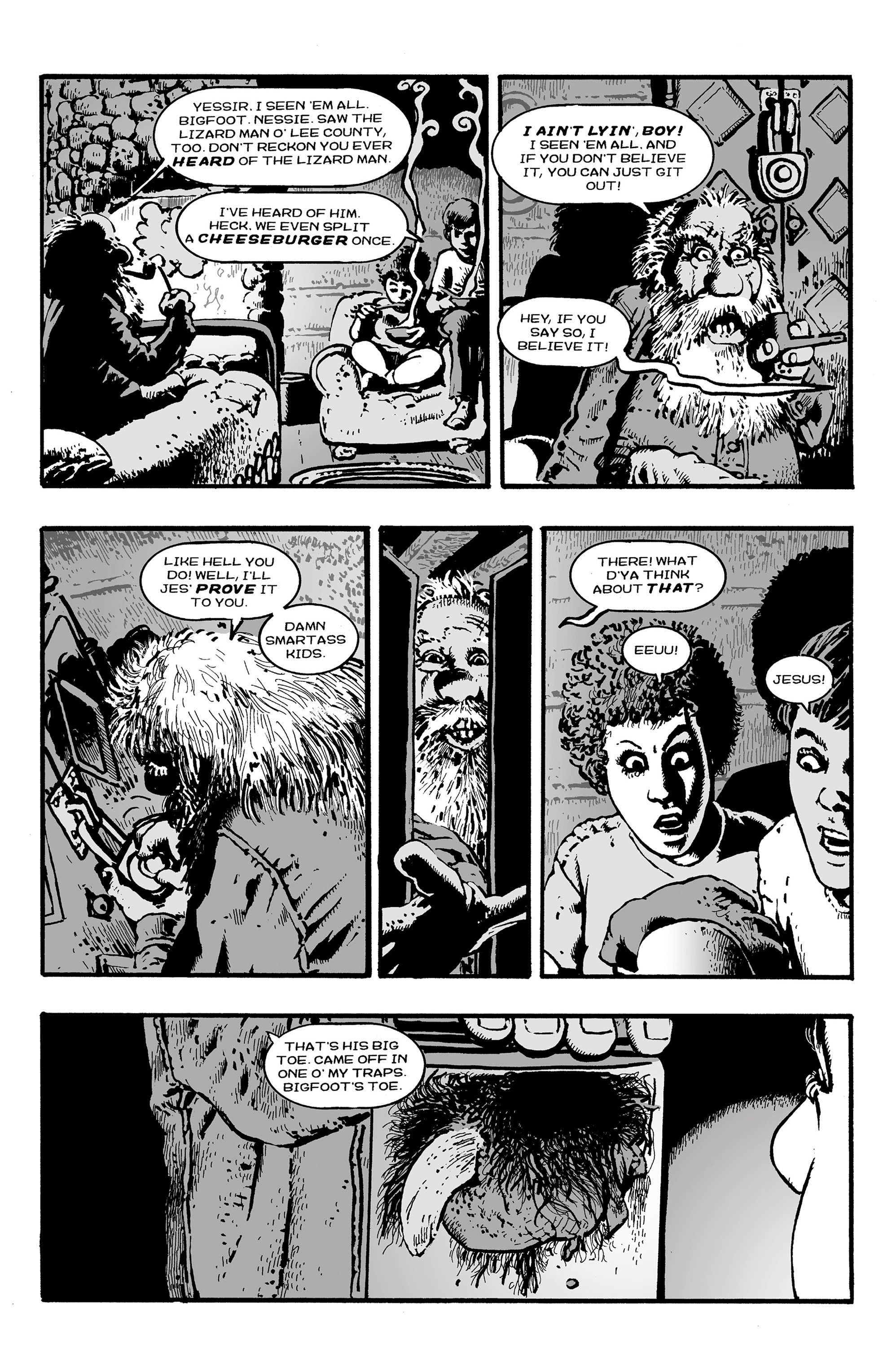 Read online Shadows on the Grave comic -  Issue #3 - 19