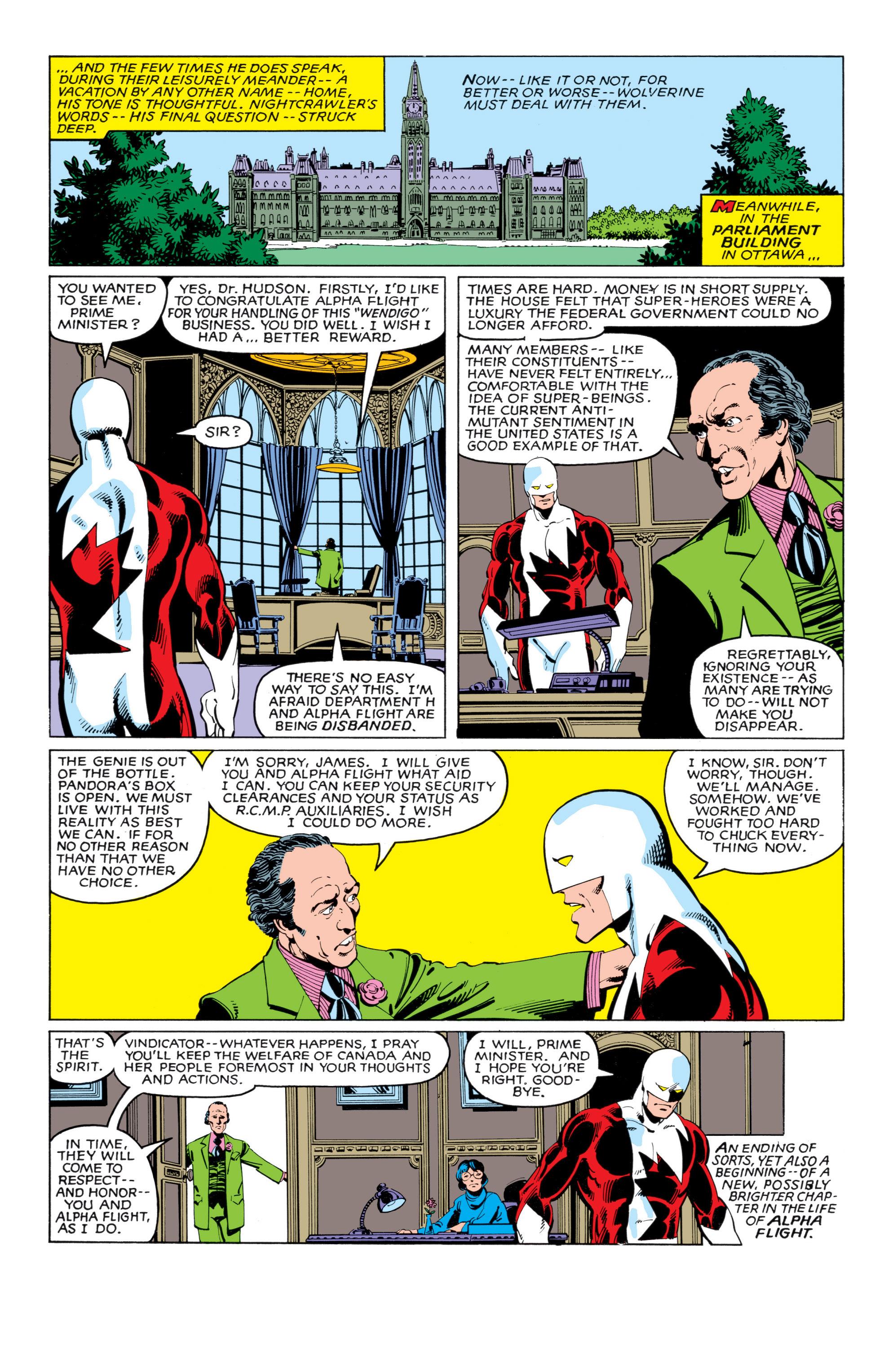 Read online Uncanny X-Men (1963) comic -  Issue #140 - 22