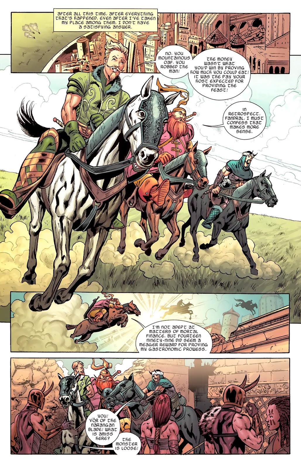 Warriors Three Issue #1 #1 - English 8
