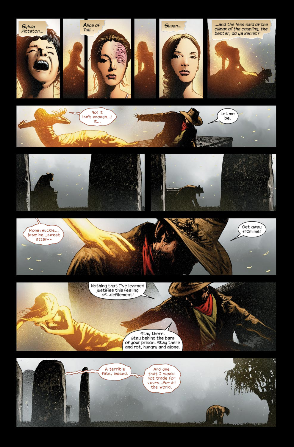 Read online Dark Tower: The Gunslinger - The Way Station comic -  Issue #5 - 16