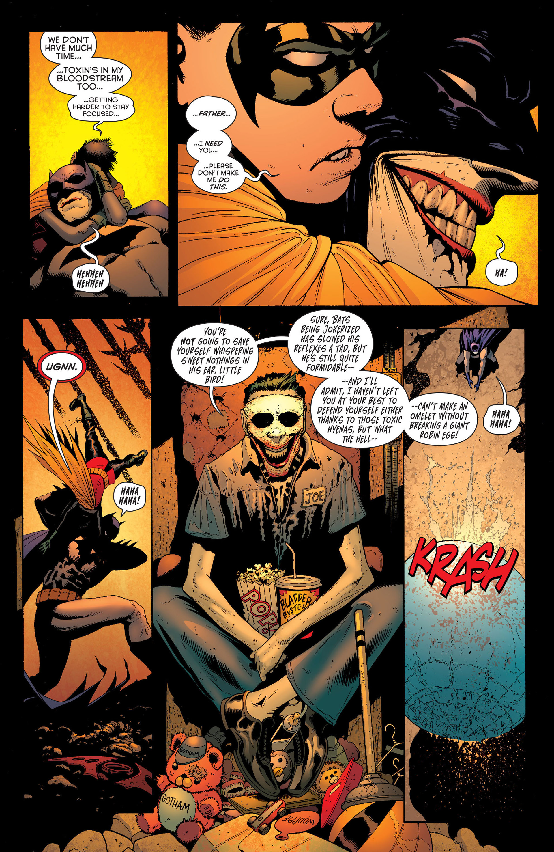 Read online Batman and Robin (2011) comic -  Issue #16 - 7