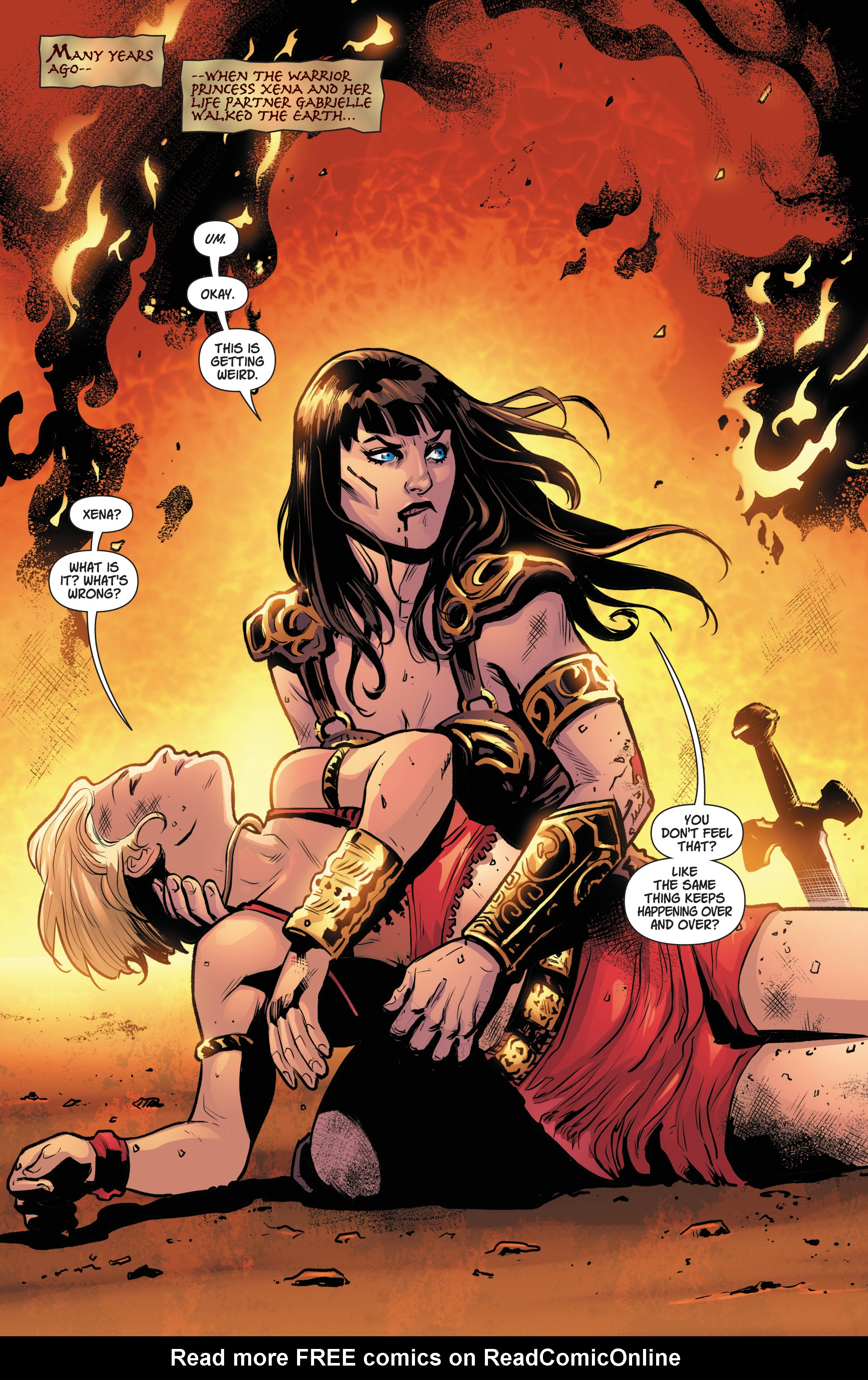 Read online Army Of Darkness/Xena: Forever…And A Day comic -  Issue #3 - 3