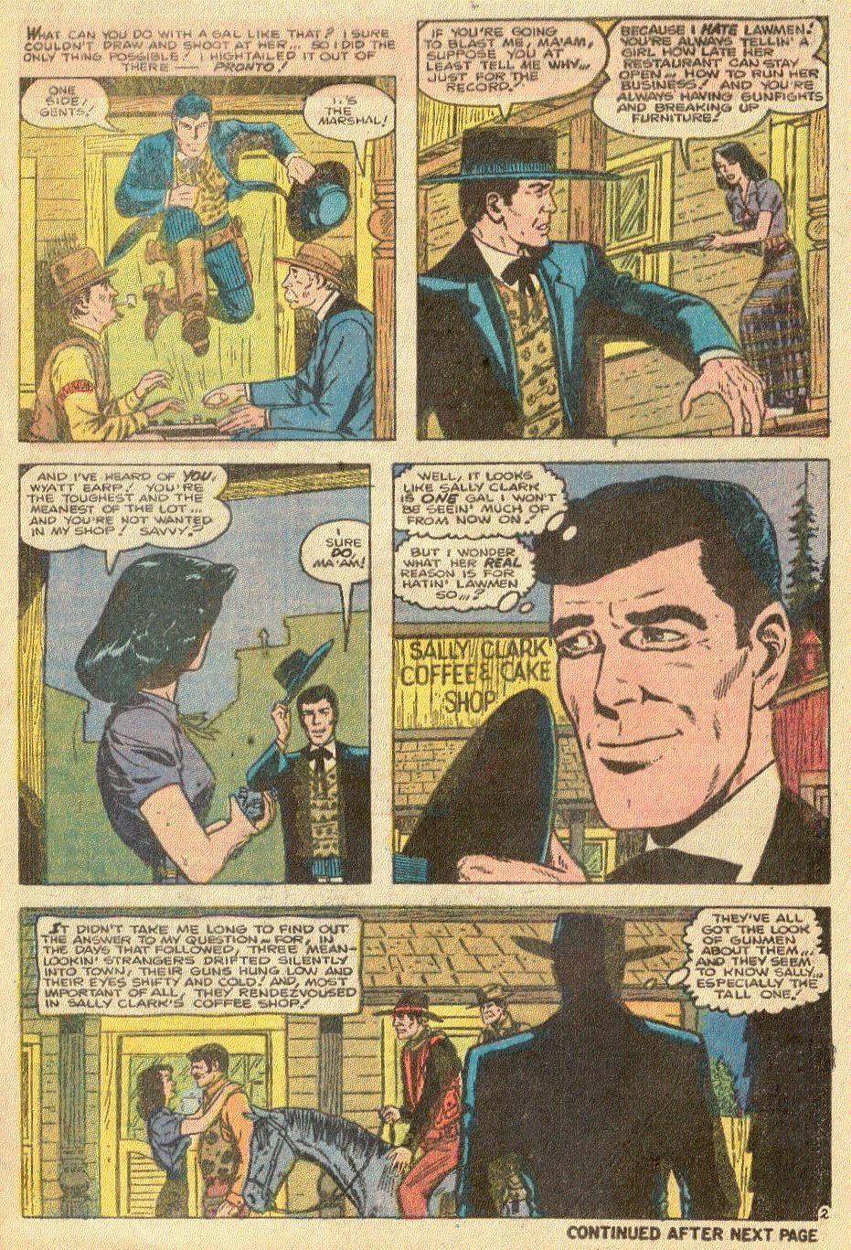 Wyatt Earp issue 32 - Page 7