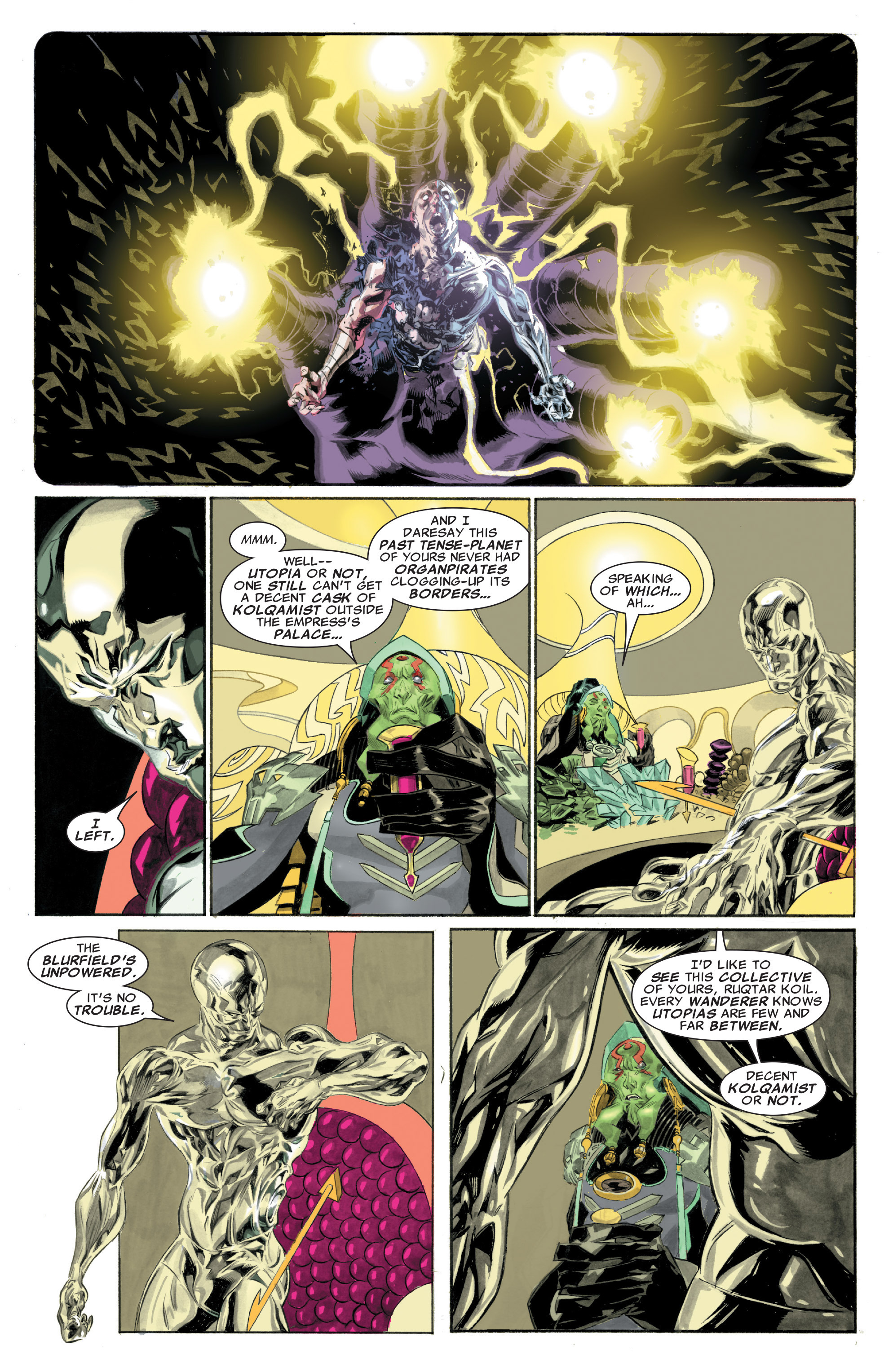 Read online Silver Surfer: In Thy Name comic -  Issue #1 - 10
